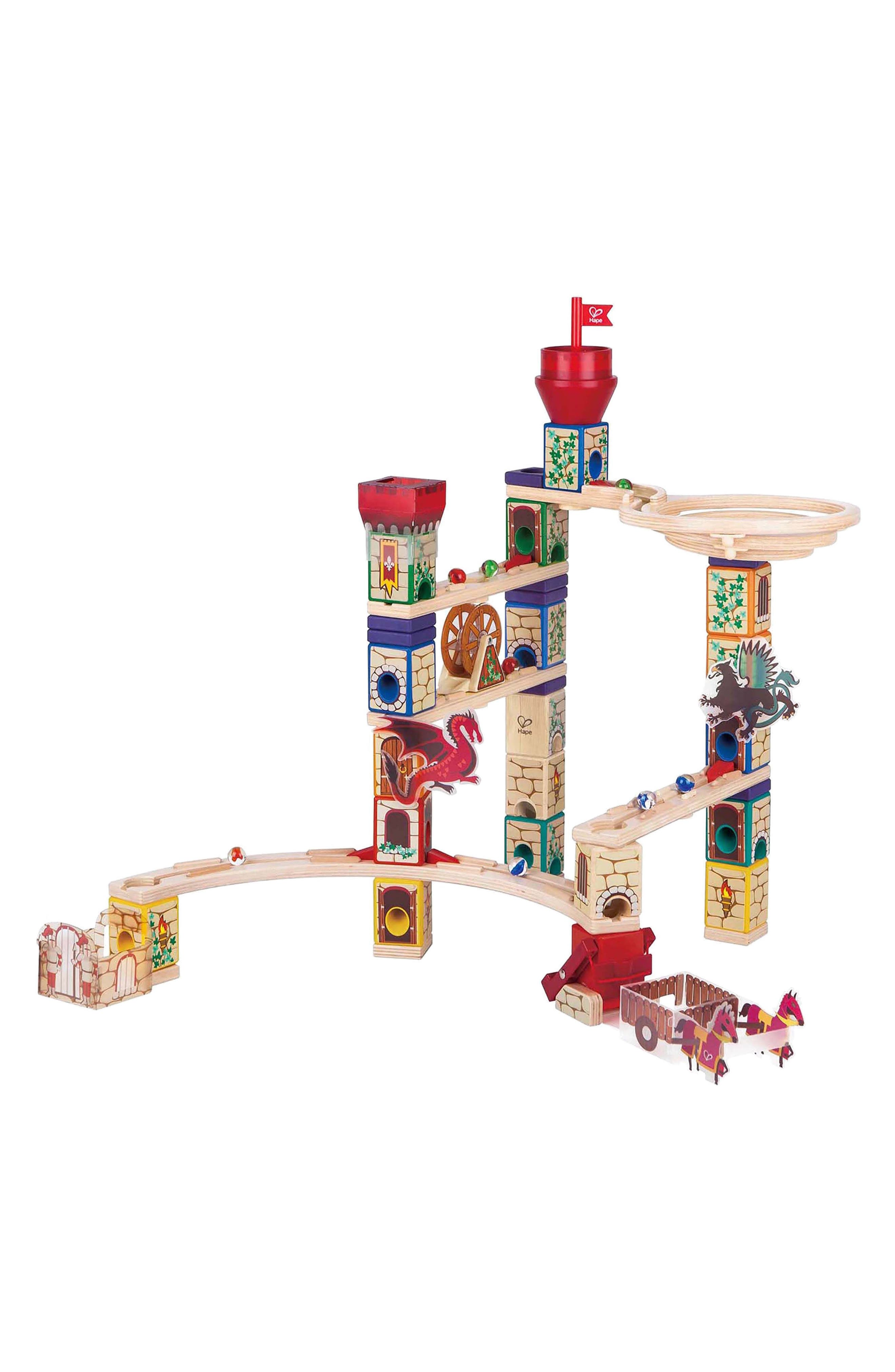 Medieval Quest Quadrilla Marble Run,                             Alternate thumbnail 2, color,                             600