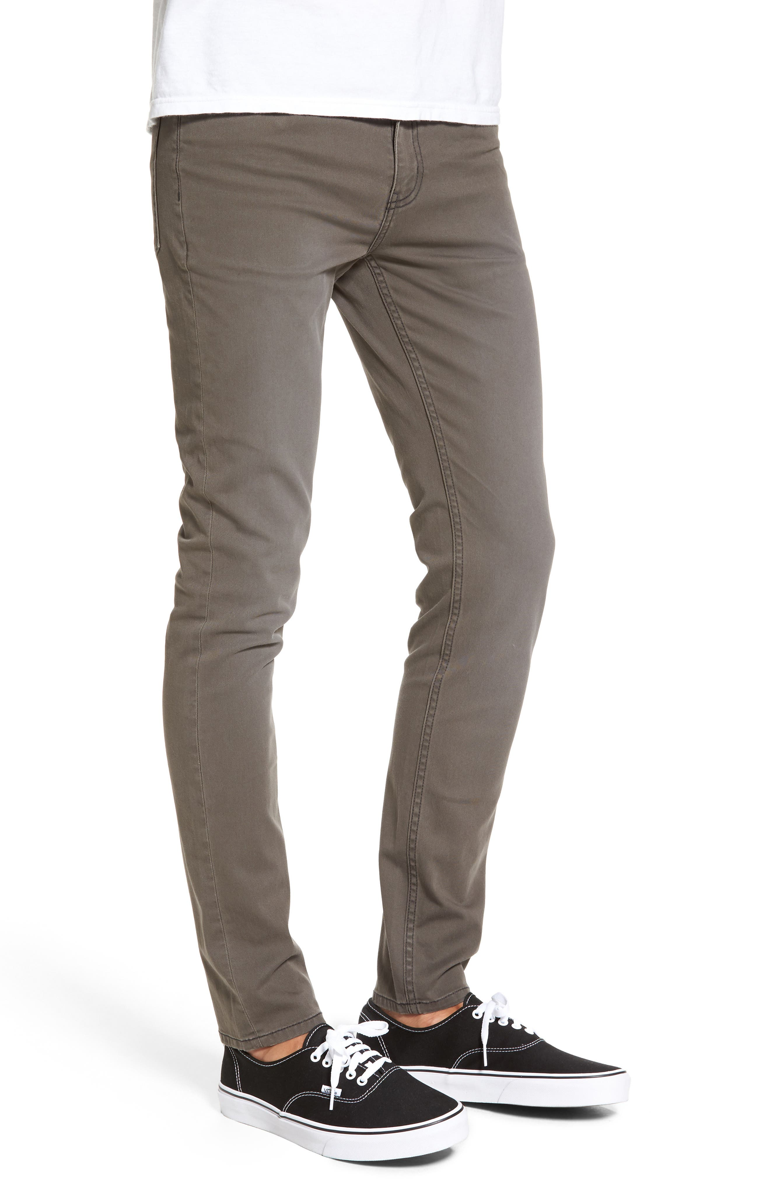Tight Skinny Fit Jeans,                             Alternate thumbnail 3, color,                             250