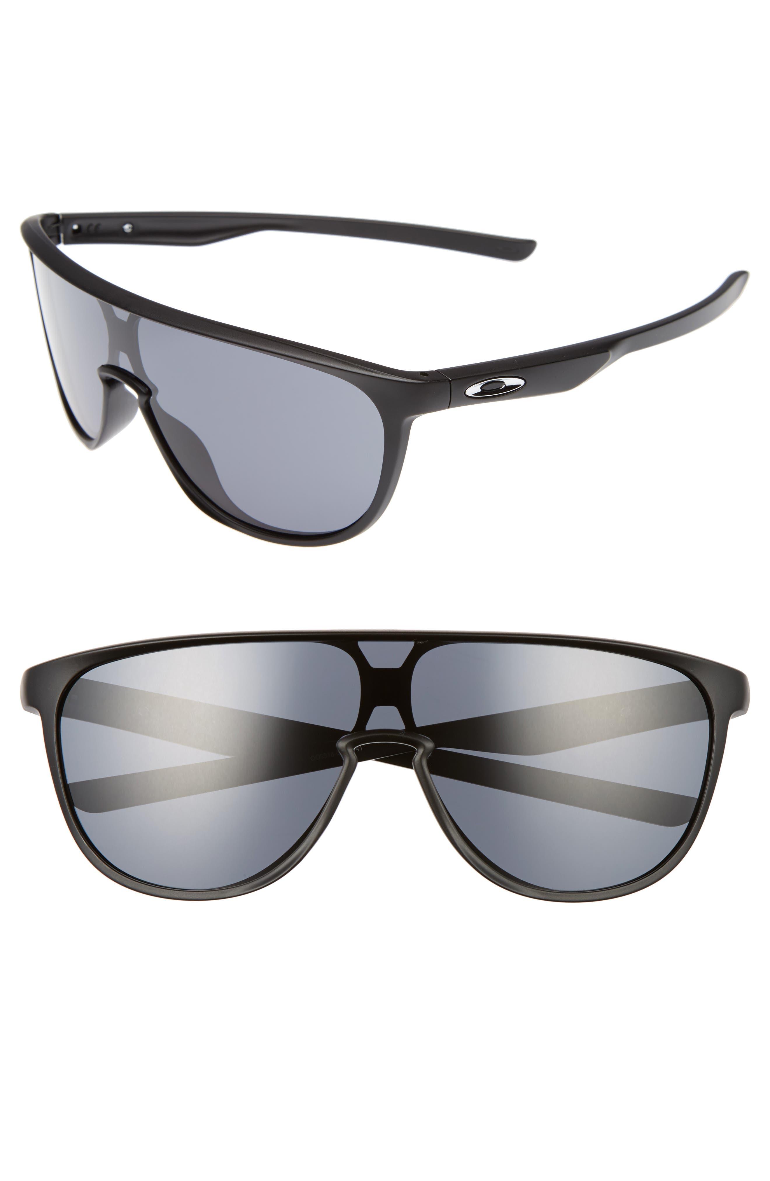 Trillbe 140mm Shield Sunglasses,                             Main thumbnail 1, color,                             001