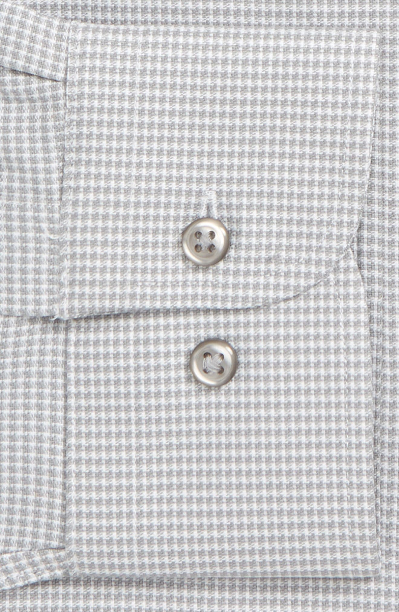 Tech-Smart Traditional Fit Stretch Solid Dress Shirt,                             Alternate thumbnail 2, color,                             GREY SLEET