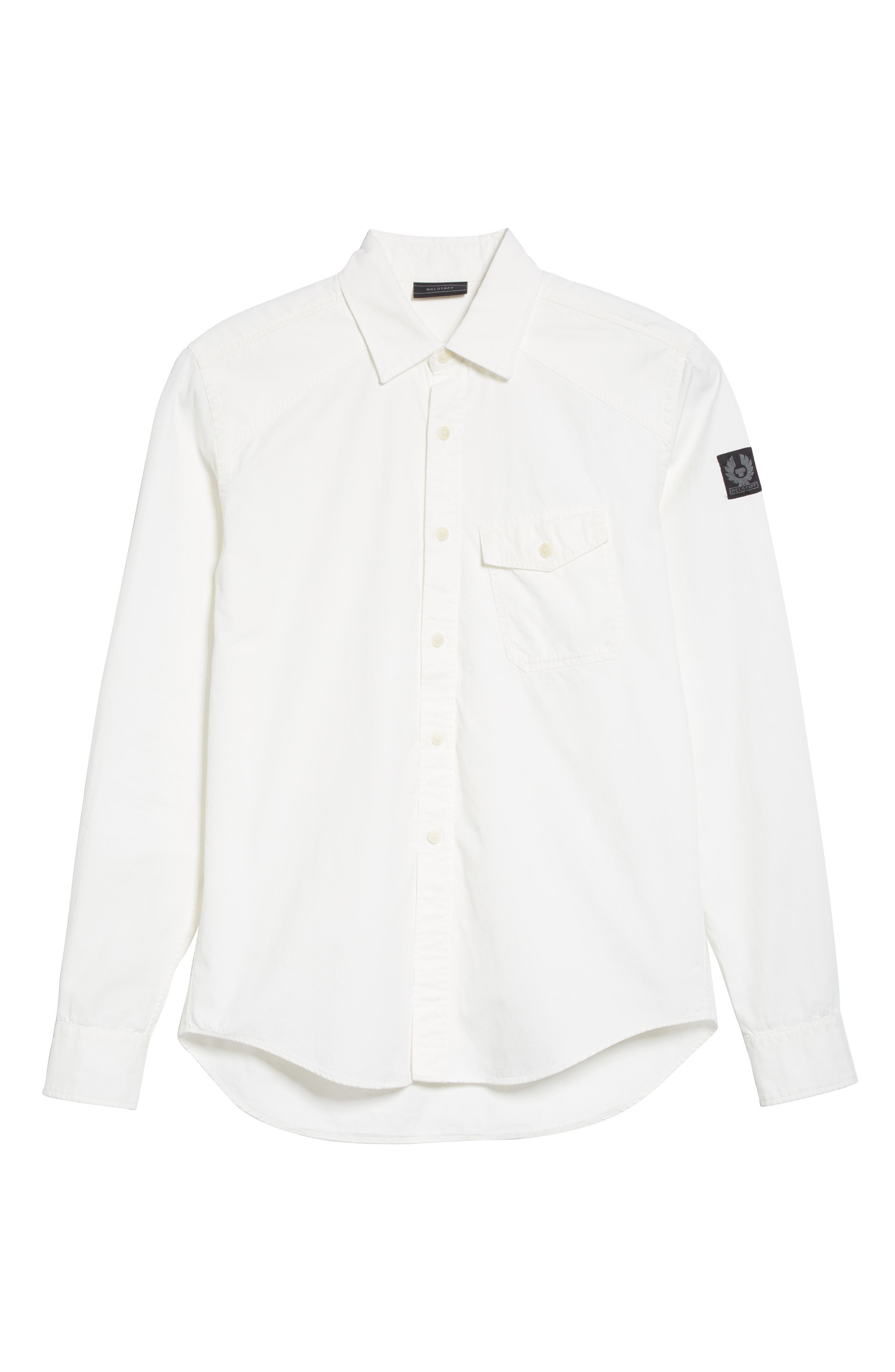 Steadway Extra Slim Fit Sport Shirt,                             Alternate thumbnail 27, color,