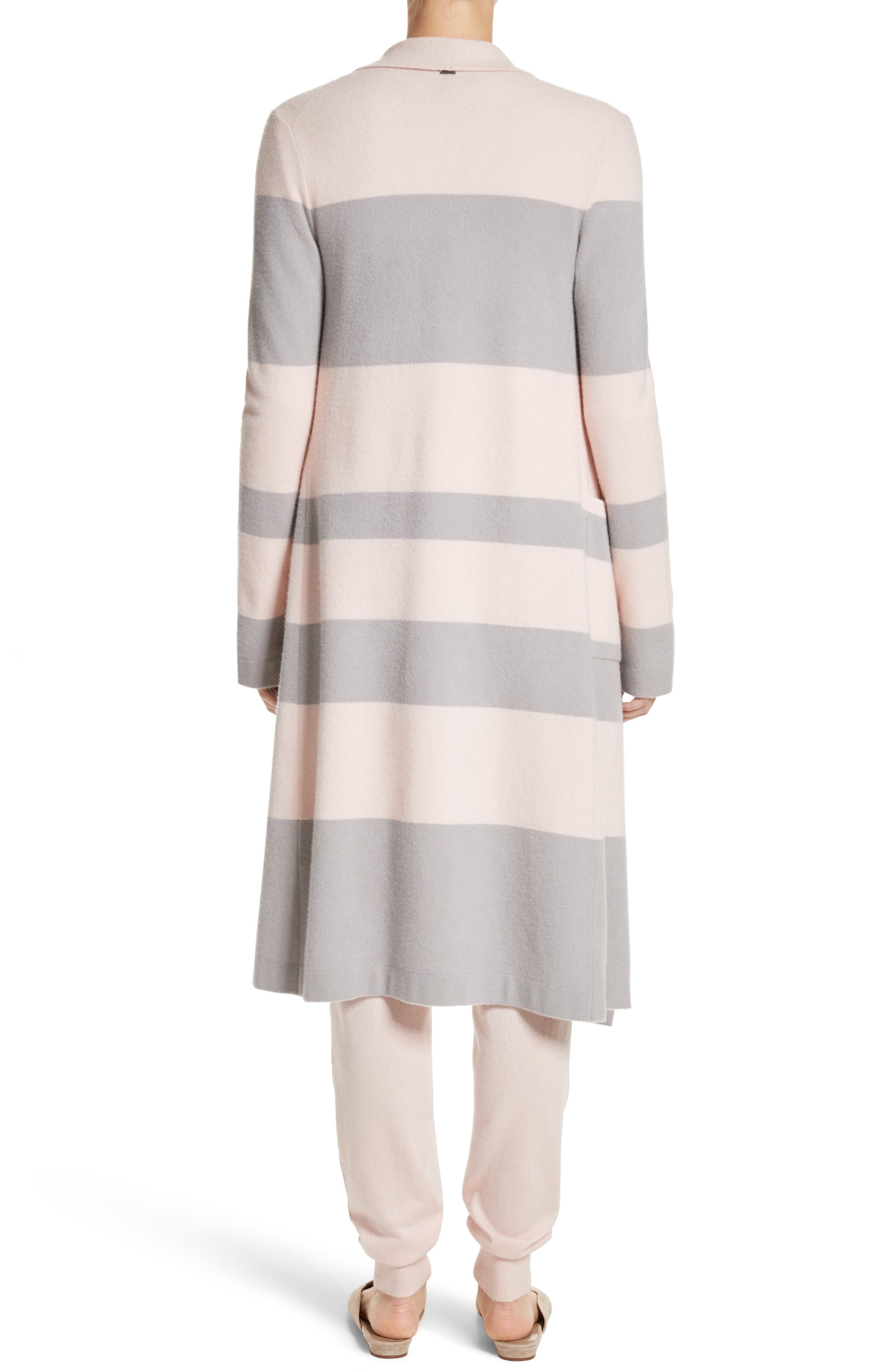 Stripe Wool & Cashmere Sweater,                             Alternate thumbnail 2, color,                             680