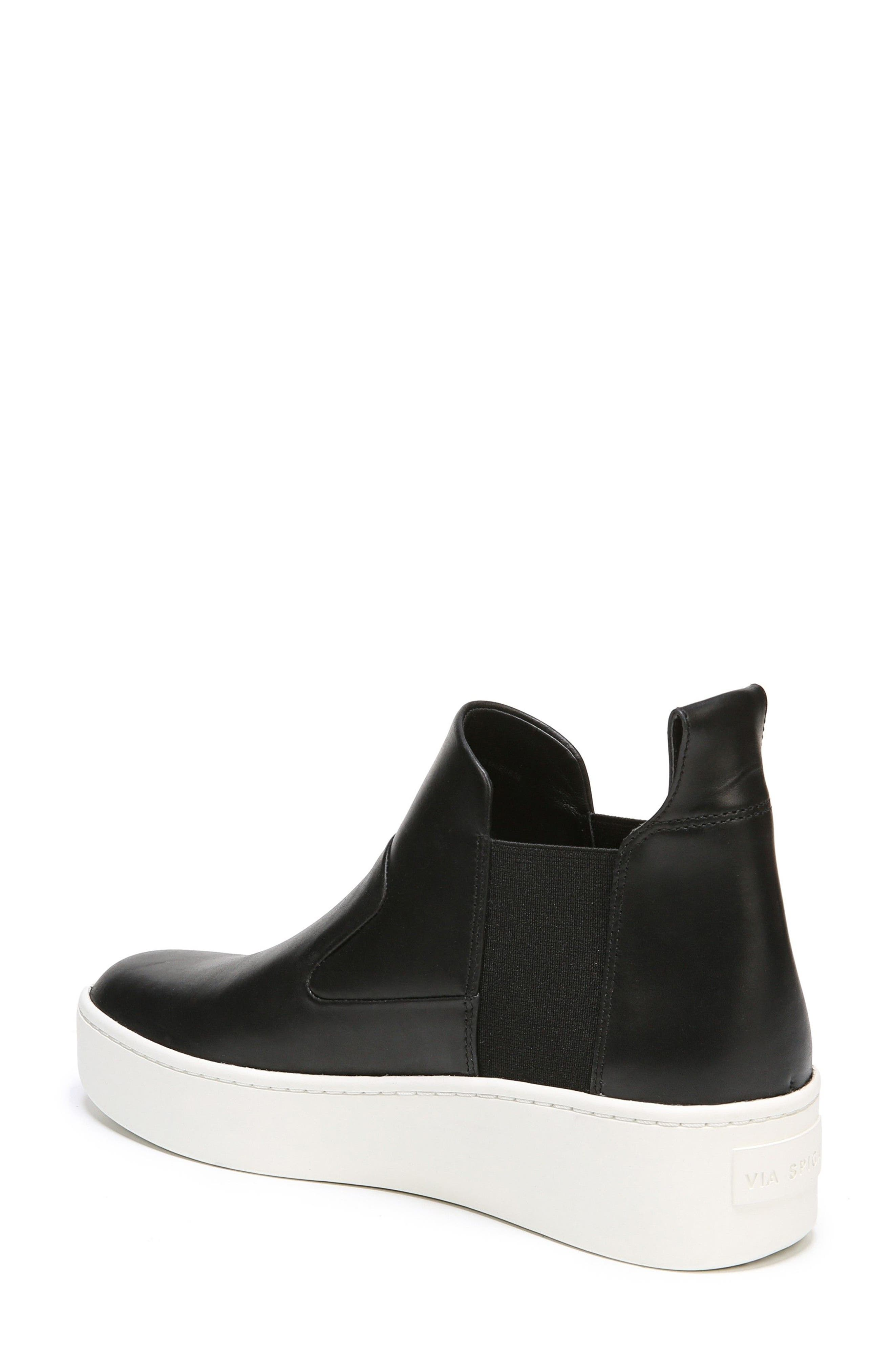 Eren Slip-On High Top Sneaker,                             Alternate thumbnail 2, color,                             001