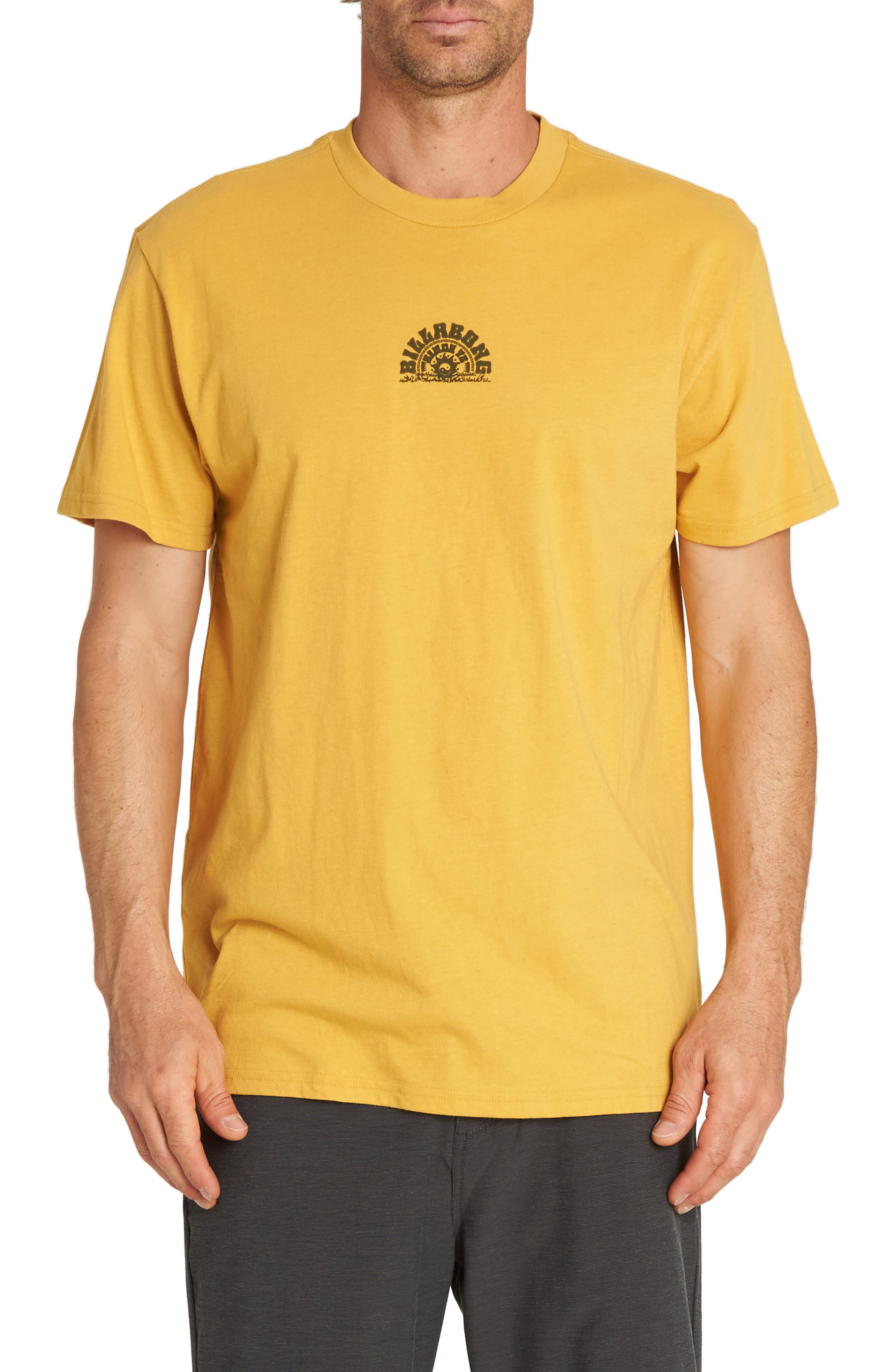 Wild & Free Graphic T-Shirt,                             Main thumbnail 1, color,                             GOLD