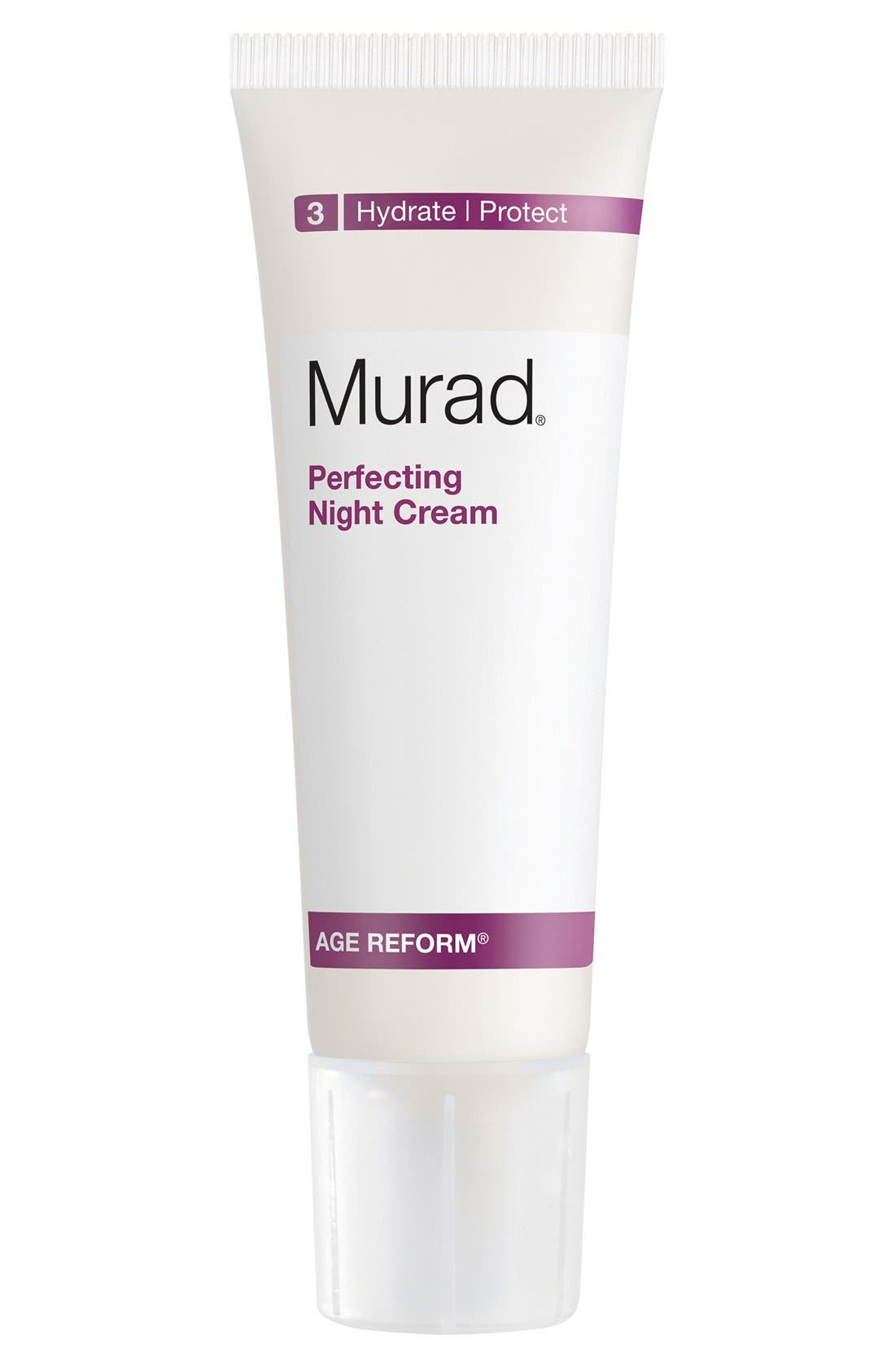 Perfecting Night Cream,                         Main,                         color, NO COLOR