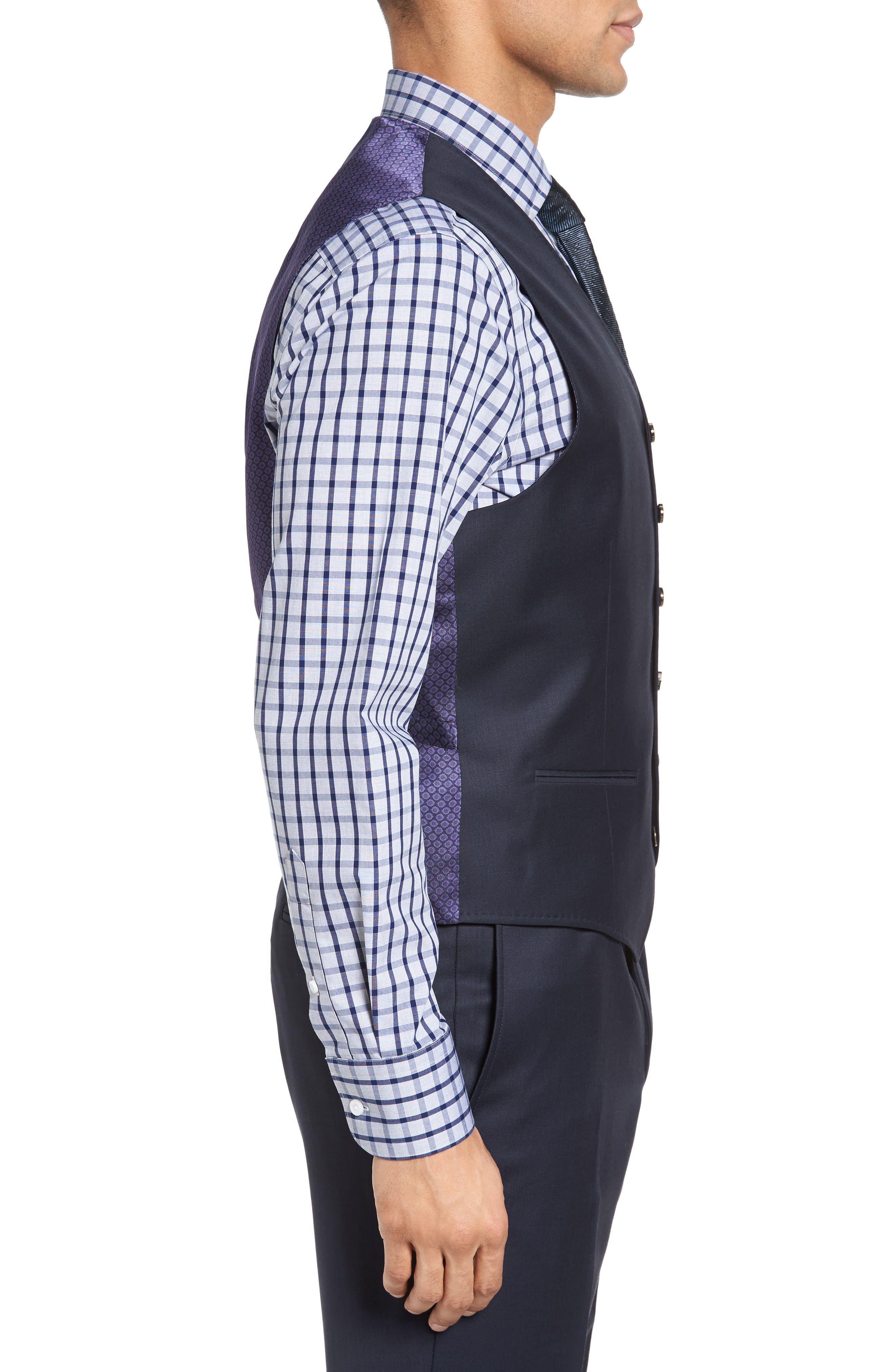 Jones Trim Fit Wool Vest,                             Alternate thumbnail 15, color,