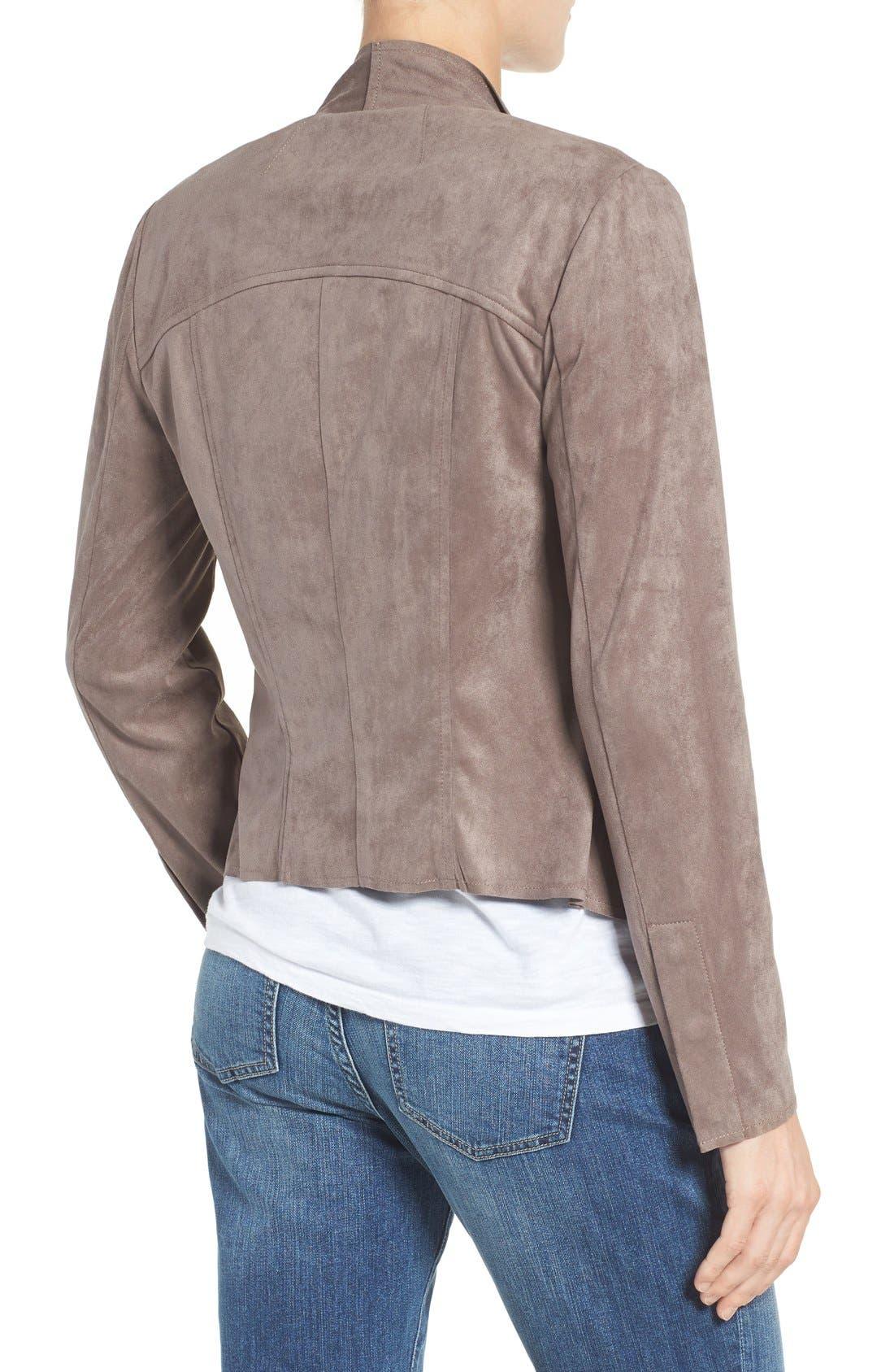 Tayanita Faux Suede Jacket,                             Alternate thumbnail 33, color,