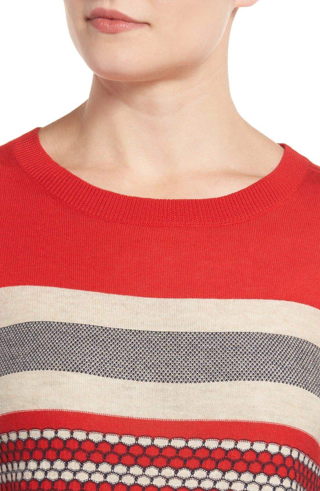 Cotton Blend Pullover,                             Alternate thumbnail 83, color,