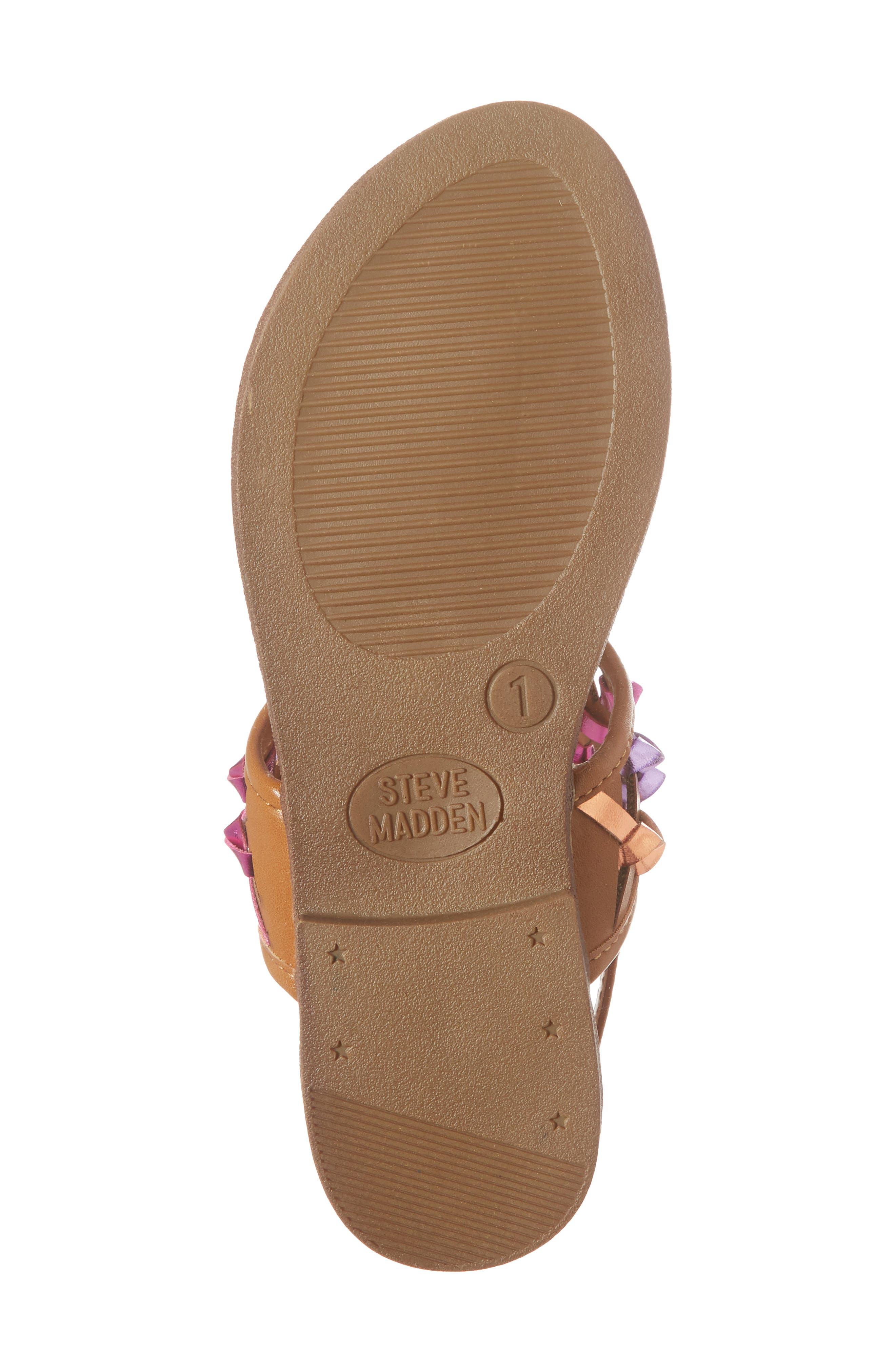 JTWIZZLE Knotted T-Strap Sandal,                             Alternate thumbnail 6, color,                             200