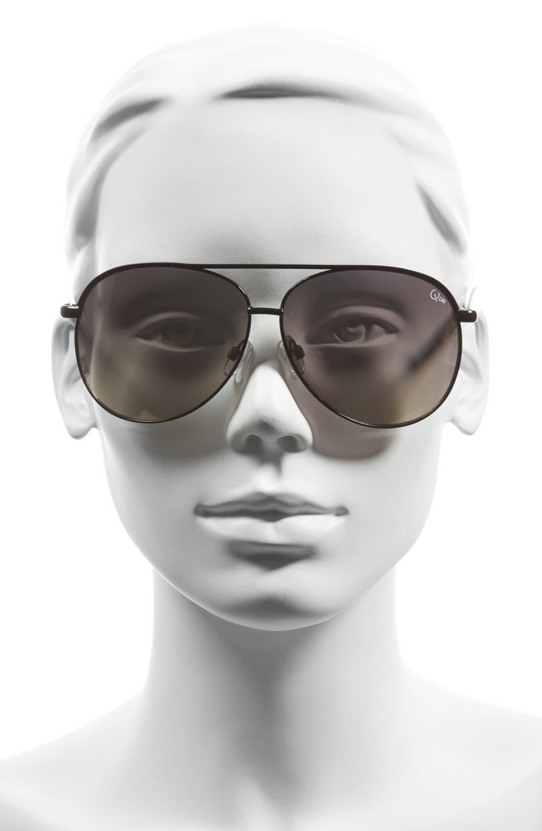 'Macaw' 65mm Aviator Sunglasses,                             Alternate thumbnail 2, color,                             003