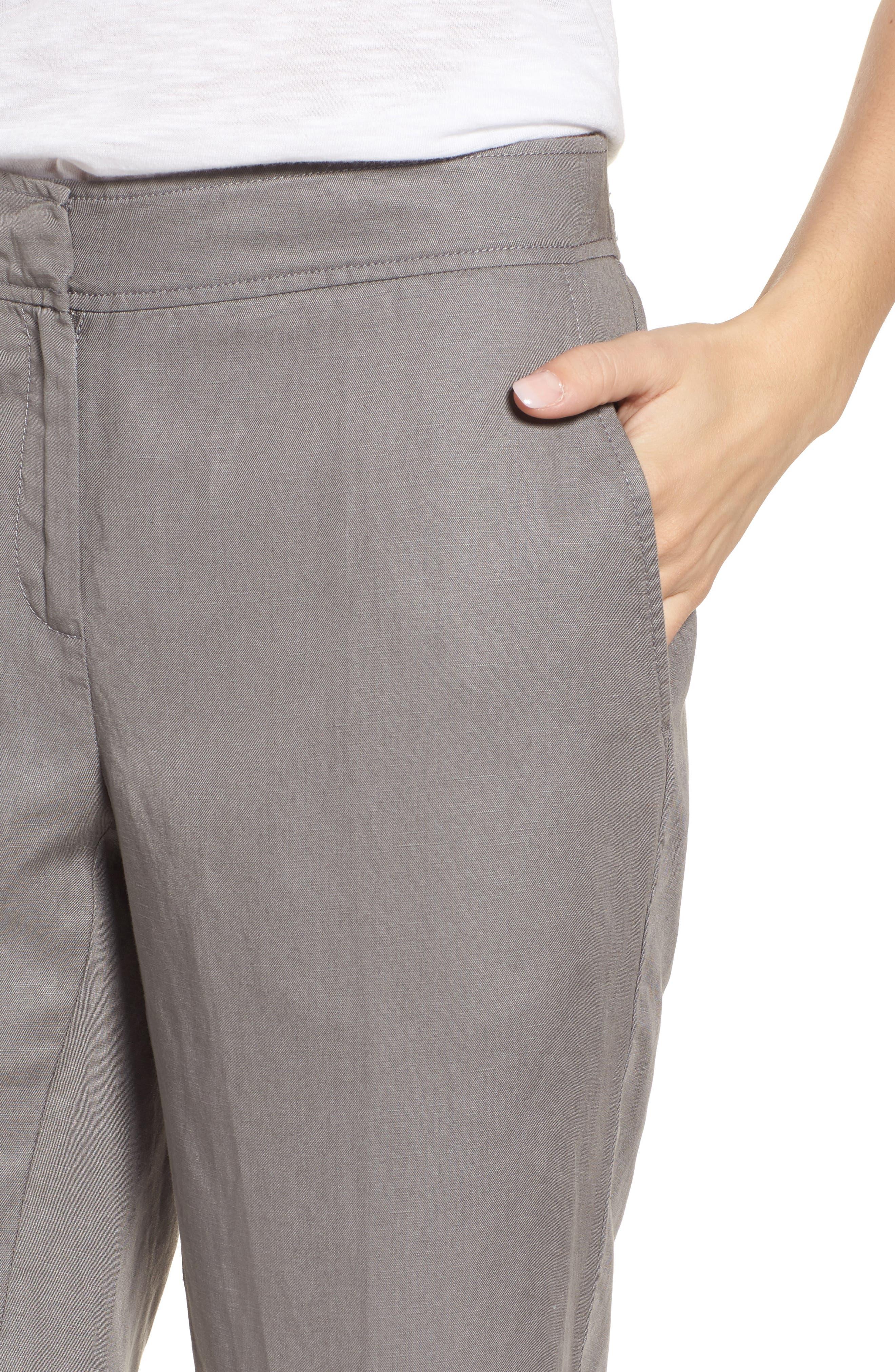 Tencel<sup>®</sup> Lyocell & Linen Walking Shorts,                             Alternate thumbnail 11, color,