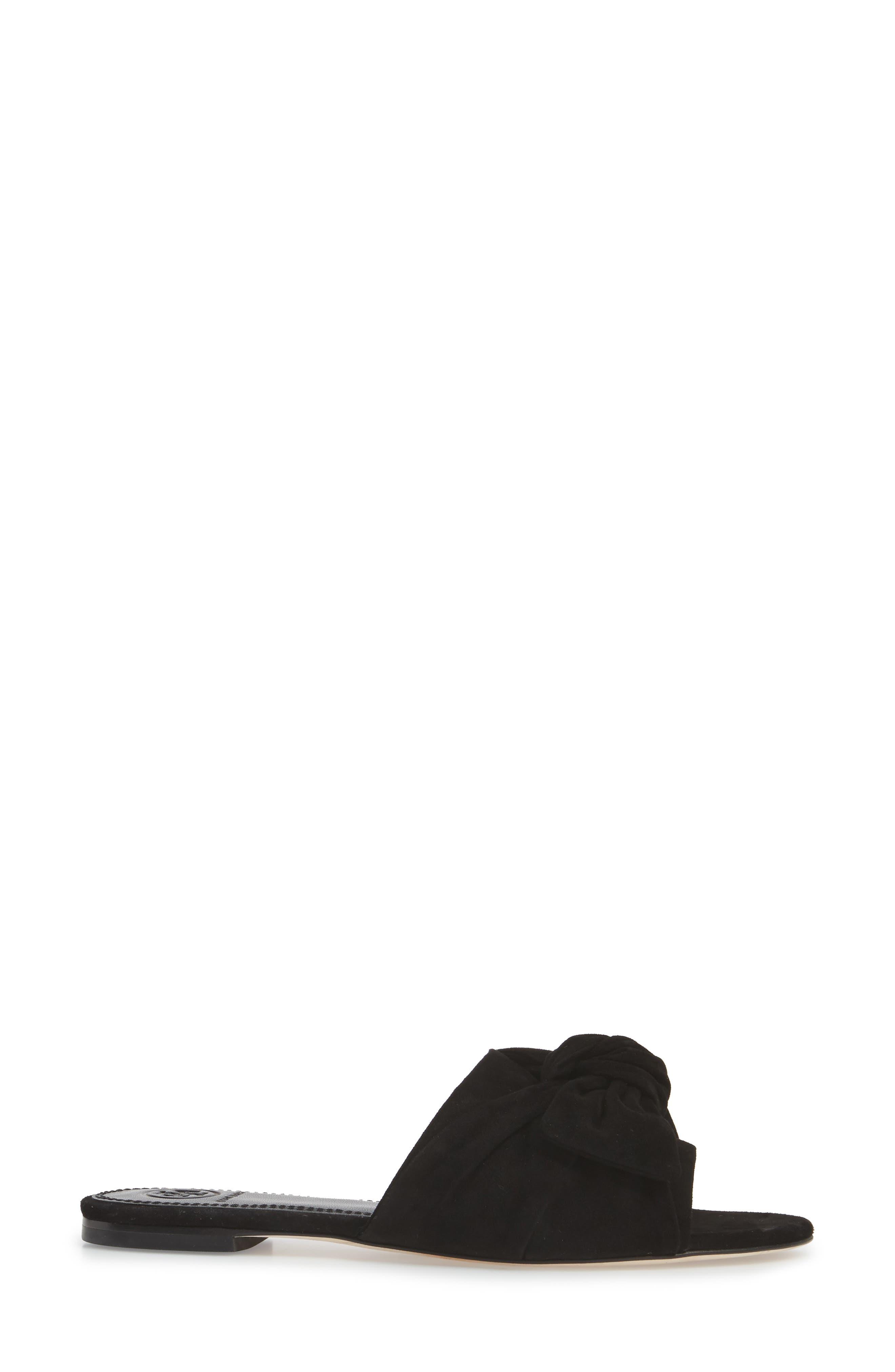 Annabelle Bow Slide Sandal,                             Alternate thumbnail 7, color,