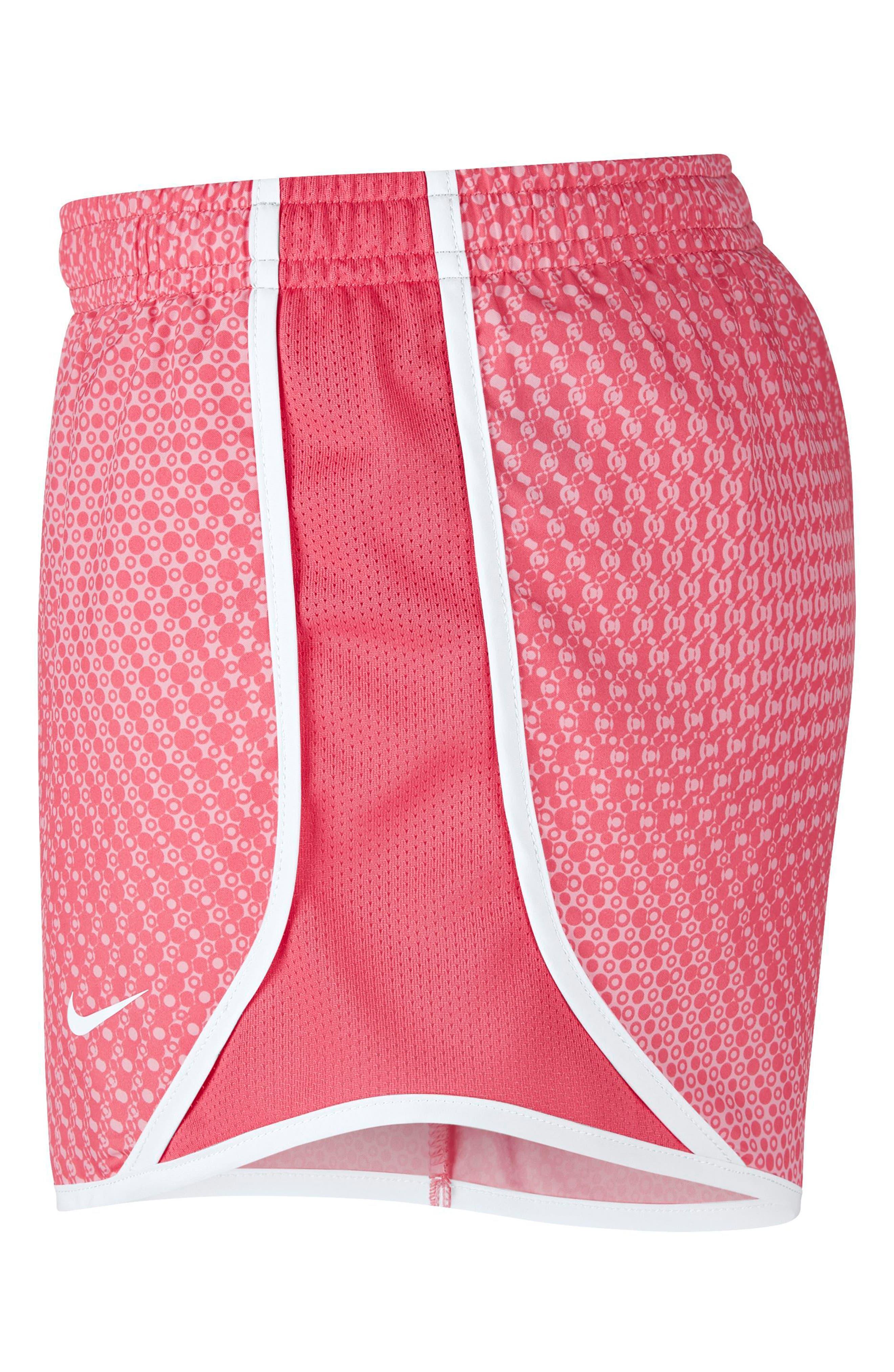 Dry Tempo Shorts,                             Alternate thumbnail 4, color,                             PINK NEBULA/ WHITE