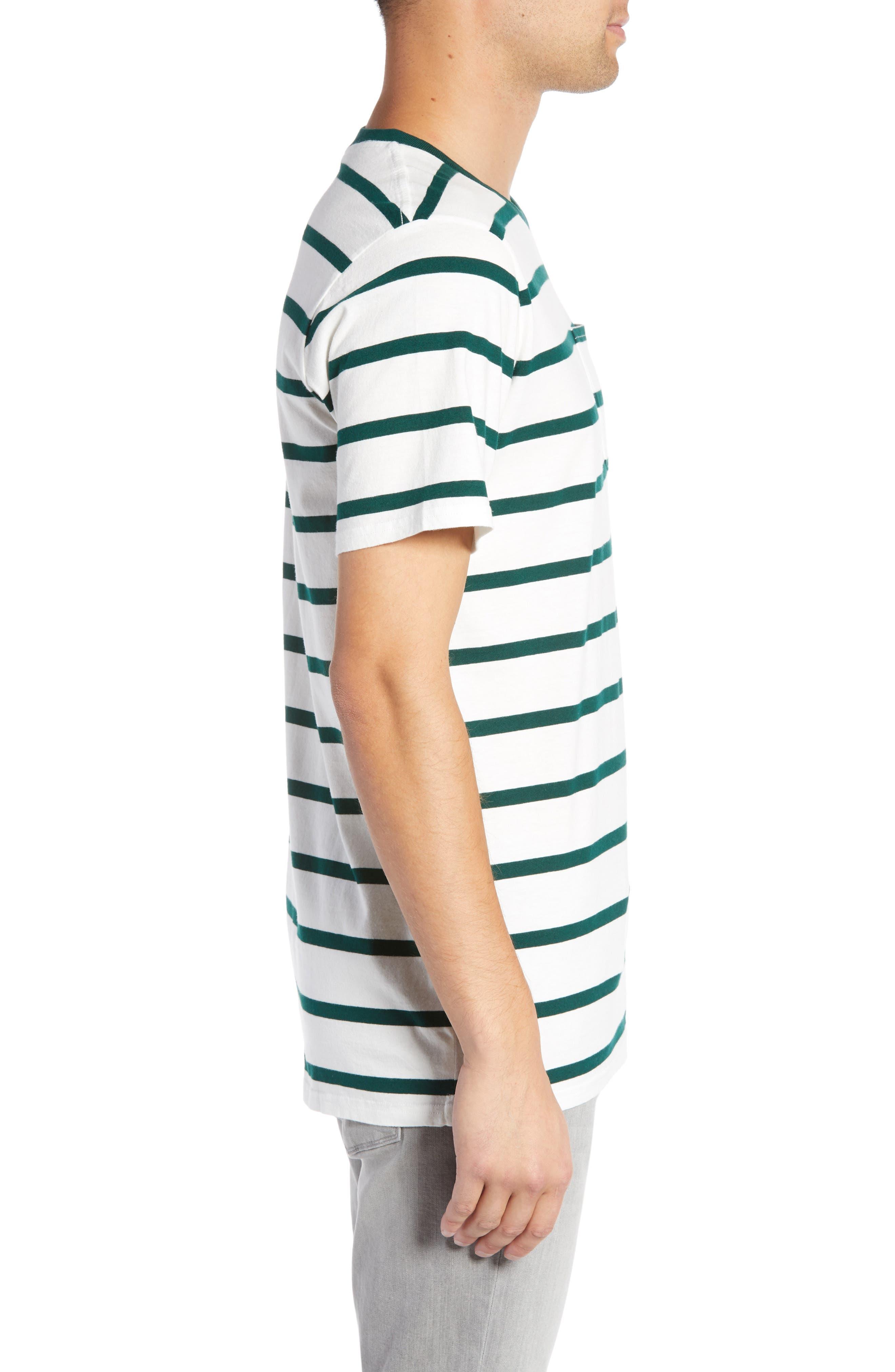 Moonshine Pocket T-Shirt,                             Alternate thumbnail 3, color,                             ECRU