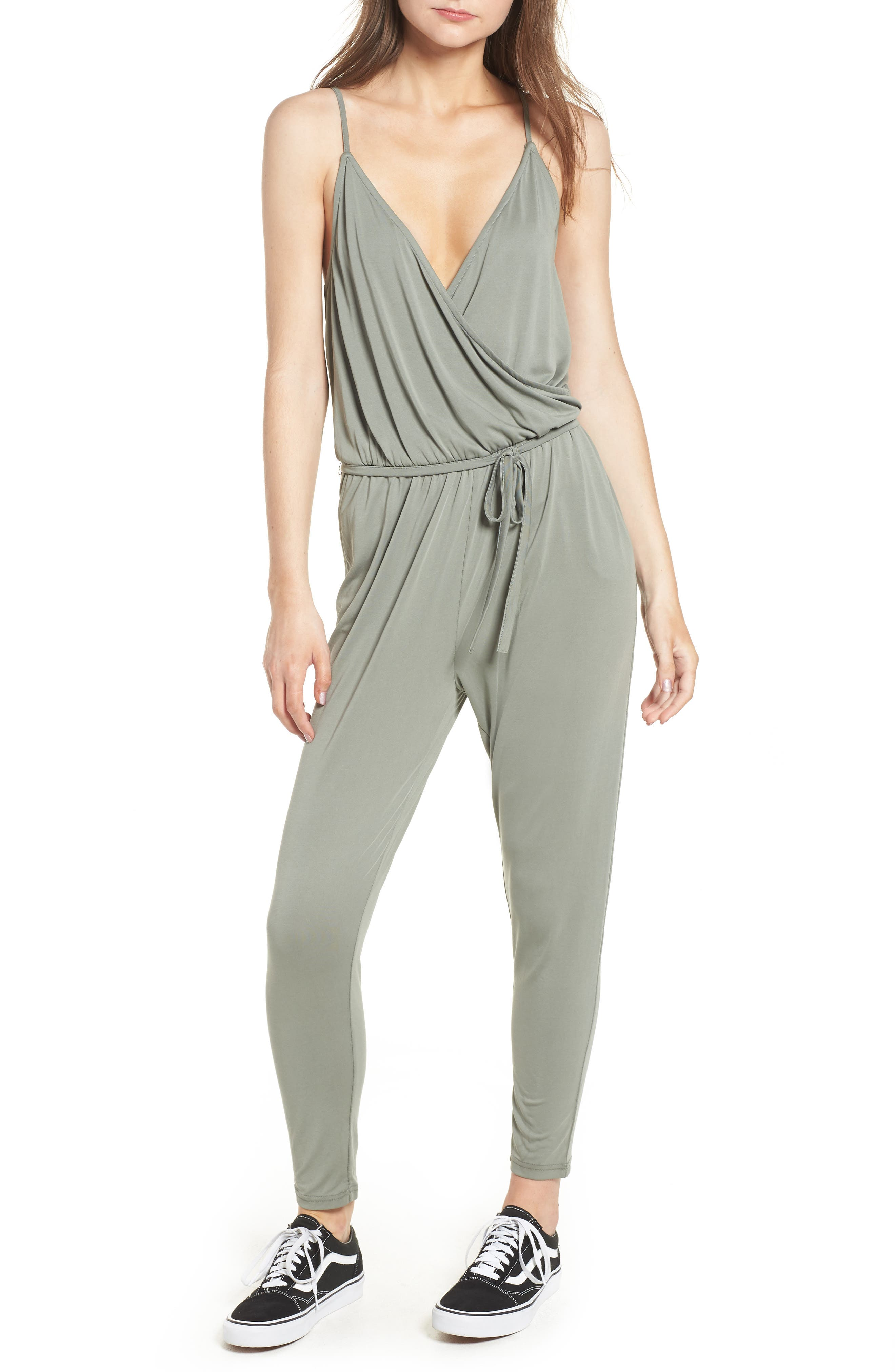 Marni Jumpsuit,                         Main,                         color, SAGE