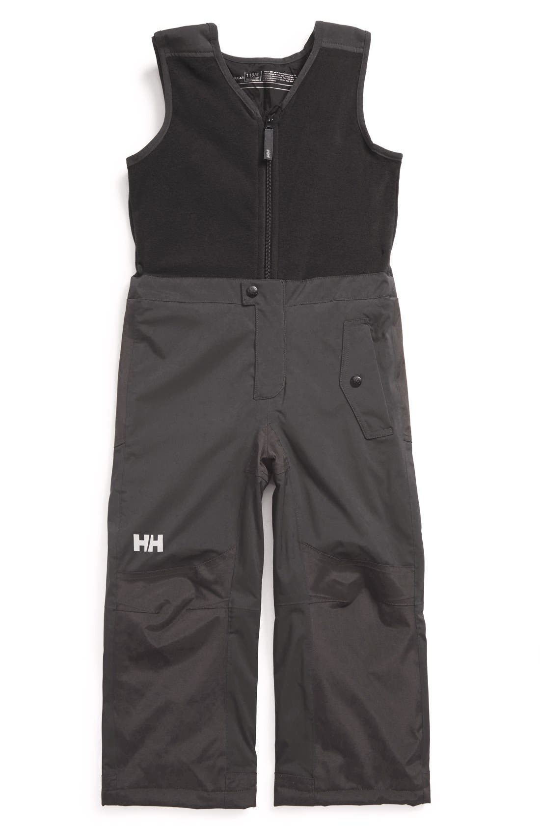 Helly Hansen 'K Powder' Insulated Bib,                             Main thumbnail 1, color,                             008