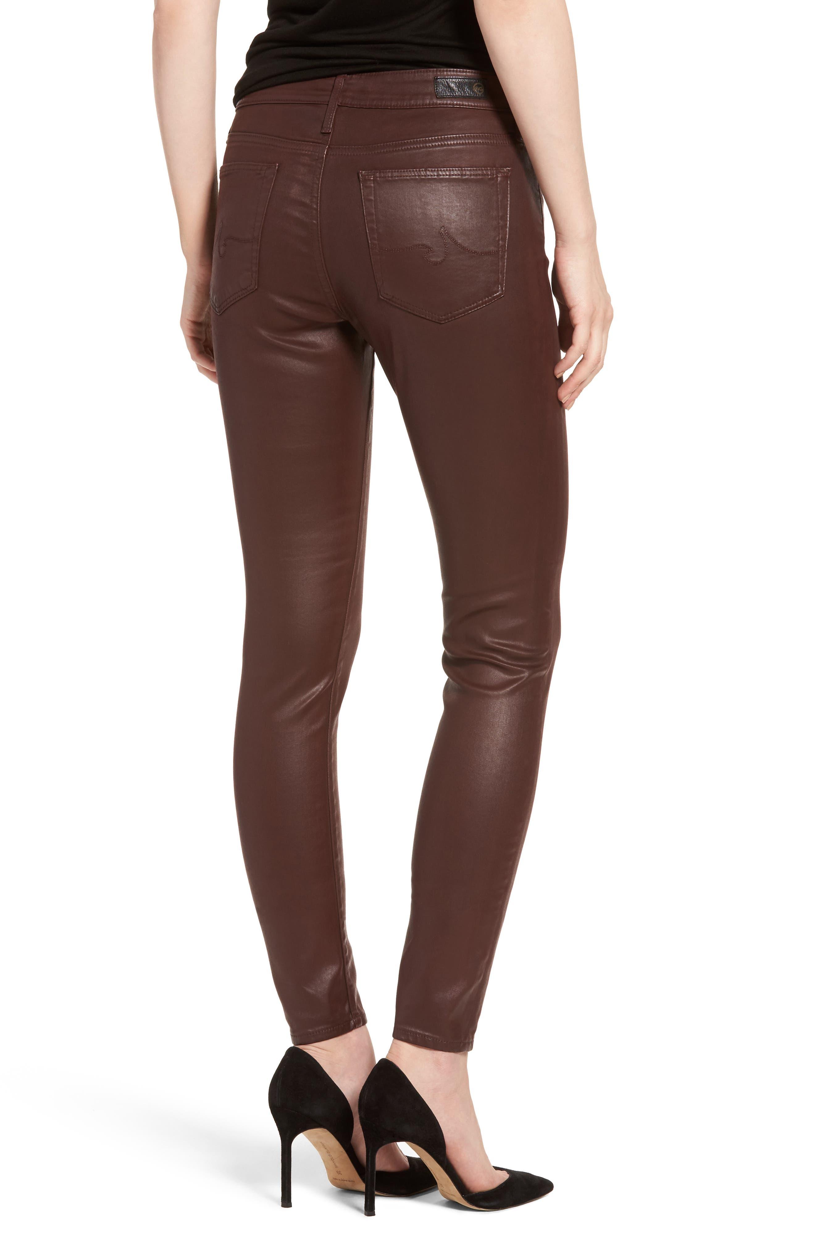 The Farrah High Rise Skinny Jeans,                             Alternate thumbnail 7, color,