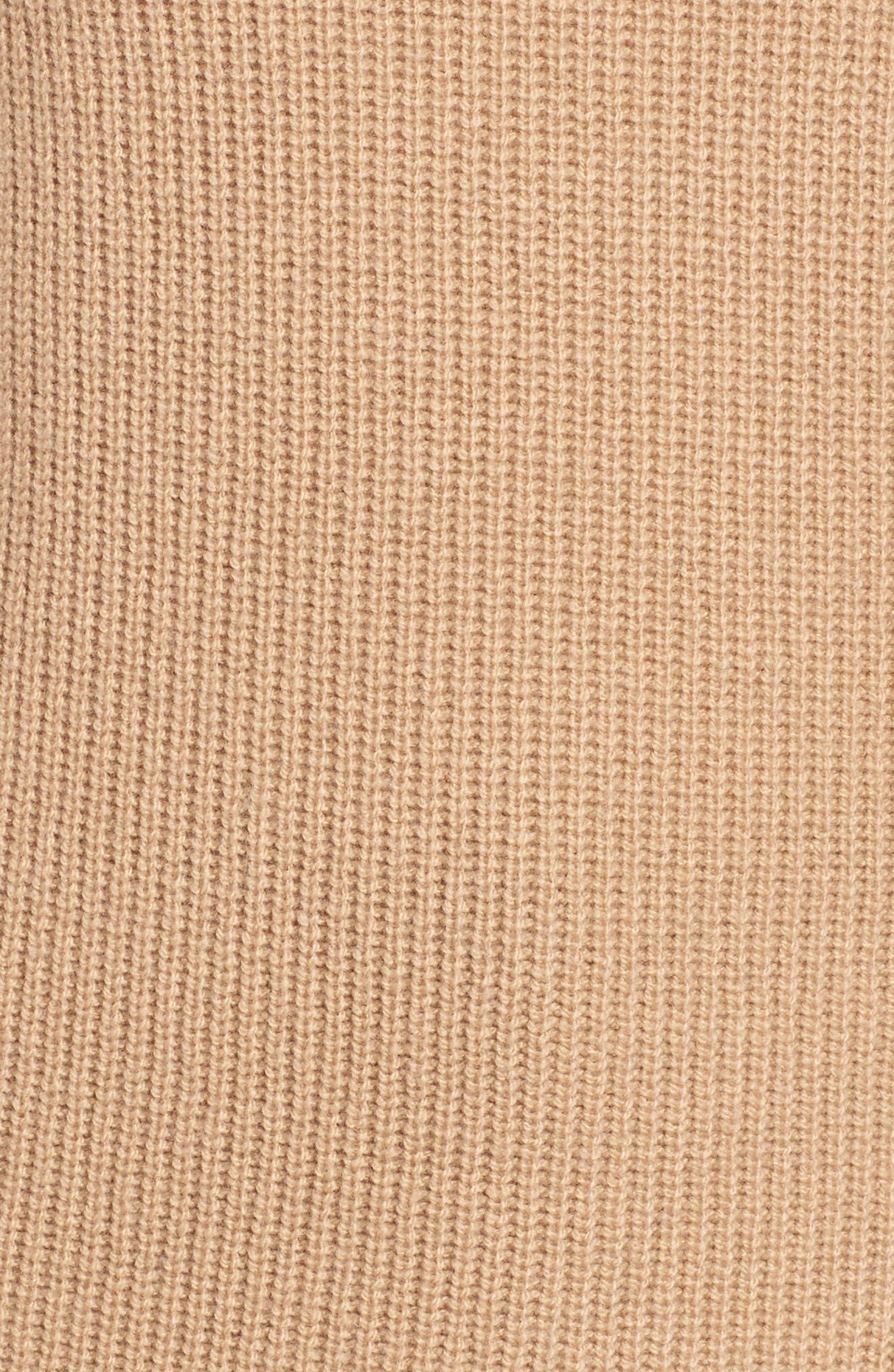 Filda Tie Side Sweater,                             Alternate thumbnail 5, color,