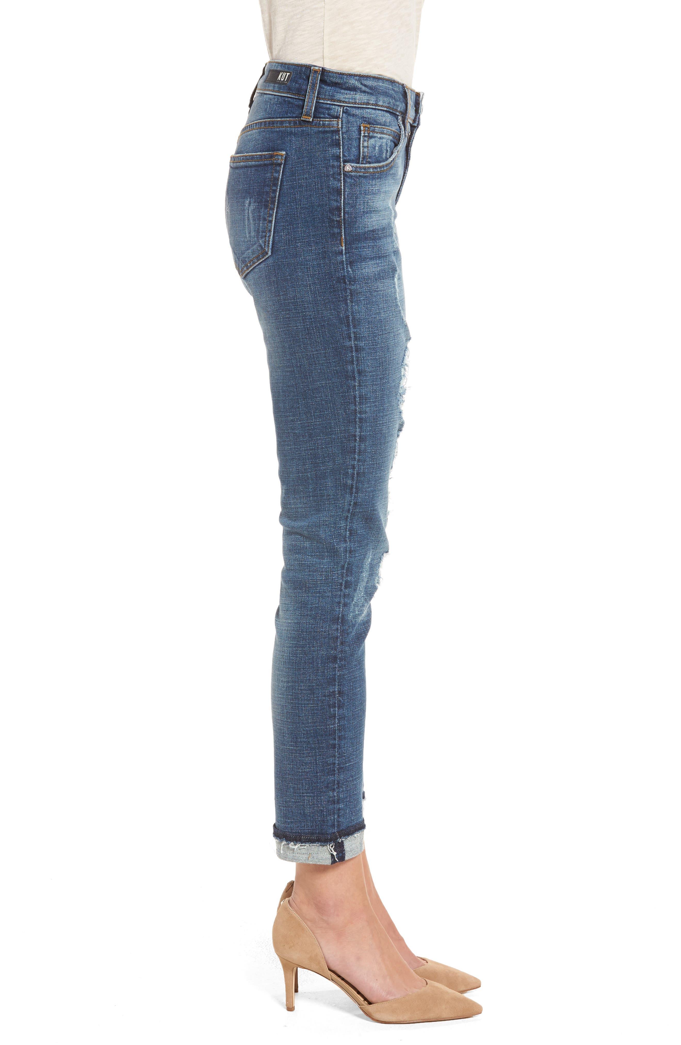 Uma Boyfriend Jeans,                             Alternate thumbnail 3, color,