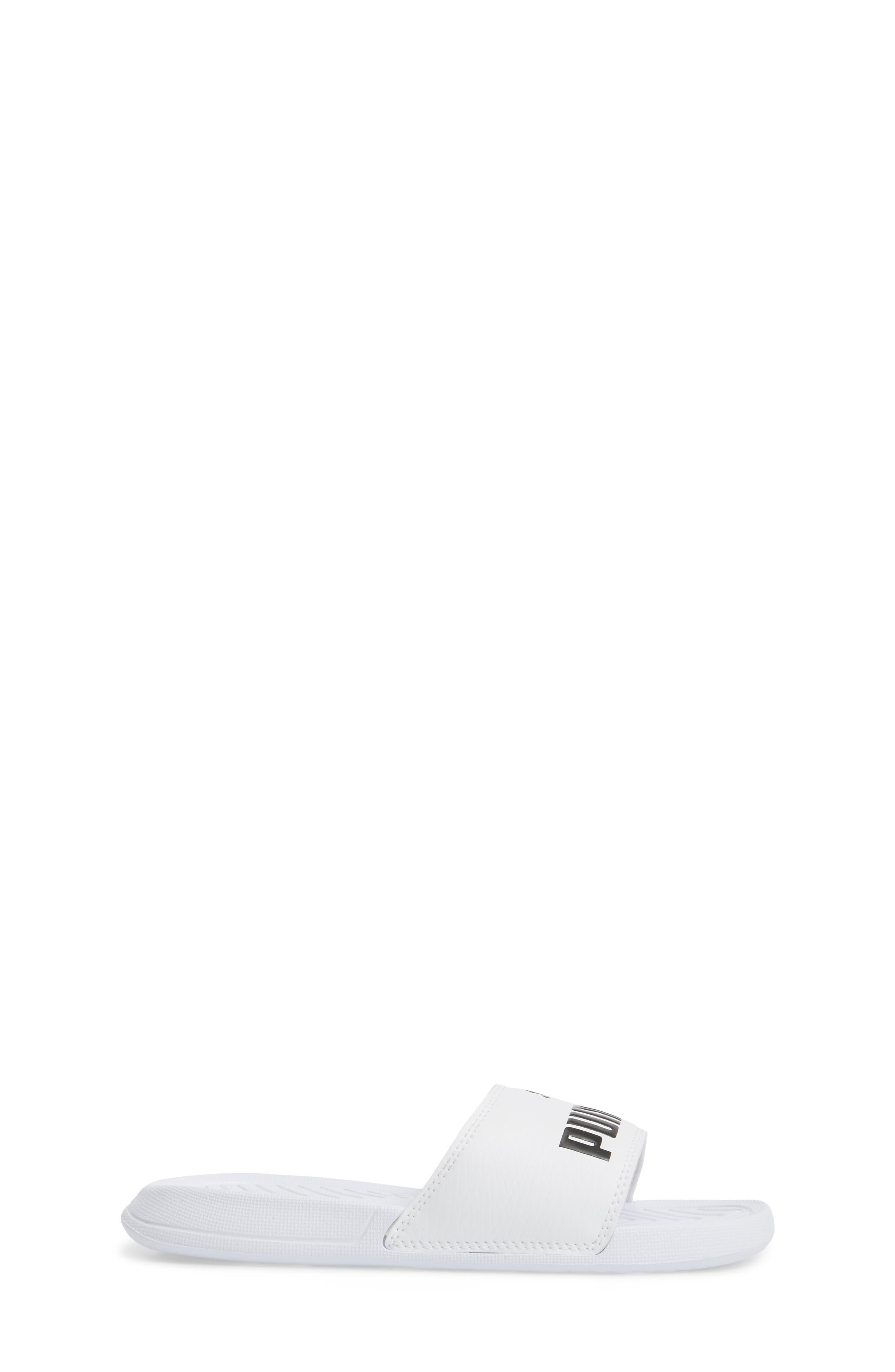 Popcat Slide Sandal,                             Alternate thumbnail 3, color,                             100
