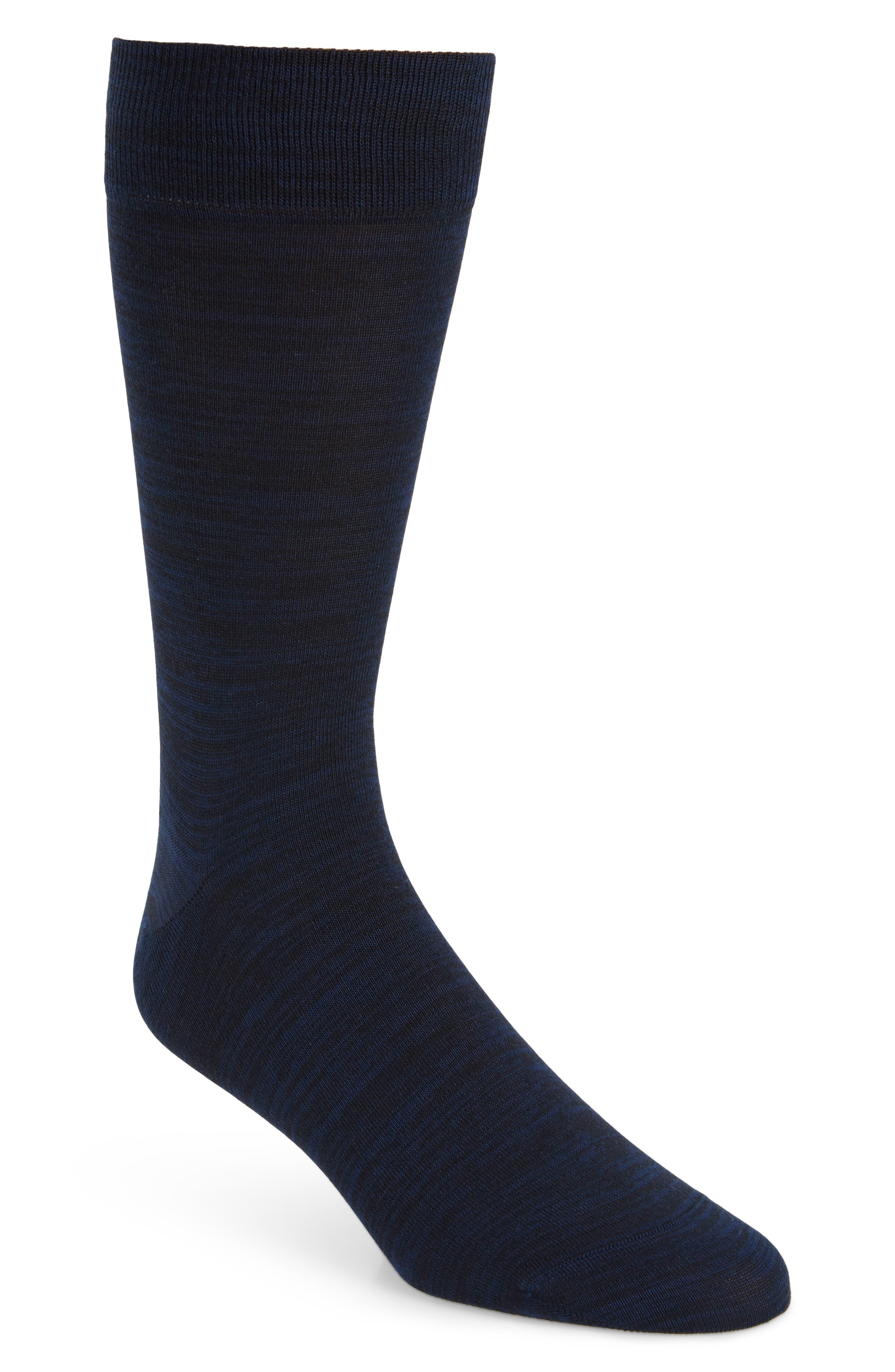 Solid Socks,                         Main,                         color, MIDNIGHT