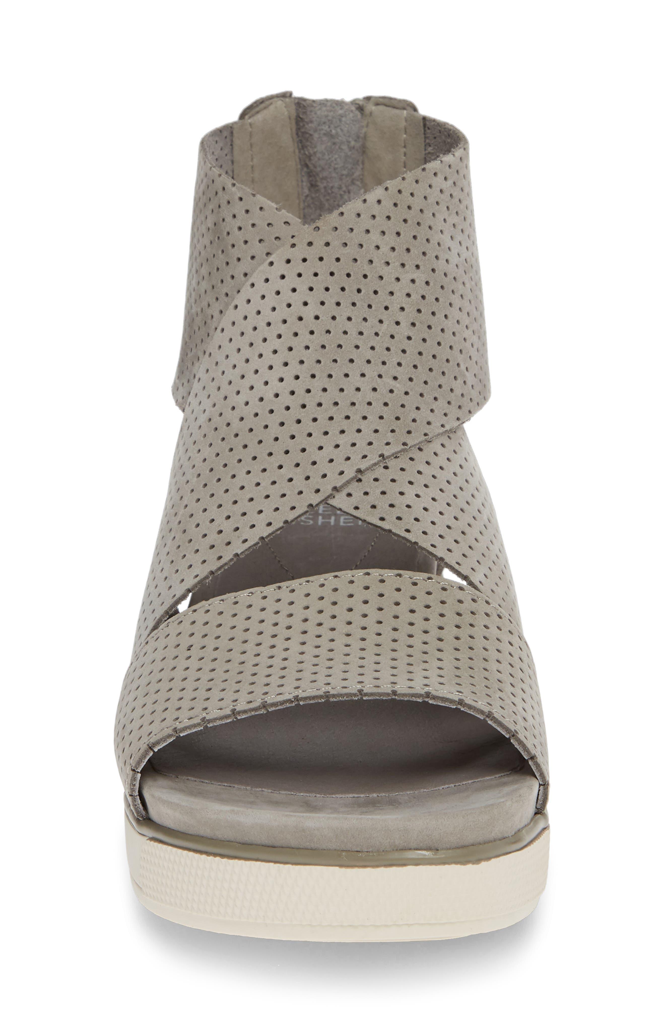 Sport Platform Sandal,                             Alternate thumbnail 4, color,                             MOON/ MOON NUBUCK