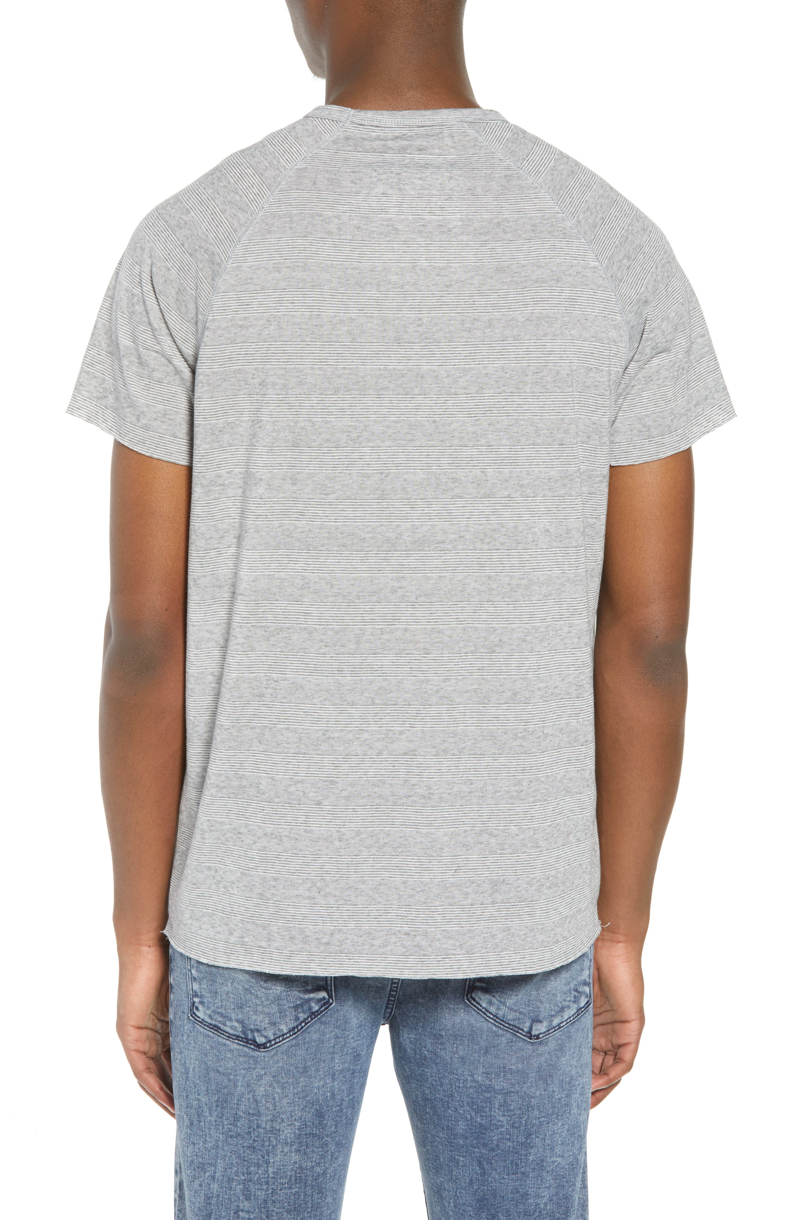 Stripe Pocket T-Shirt,                             Alternate thumbnail 2, color,                             030