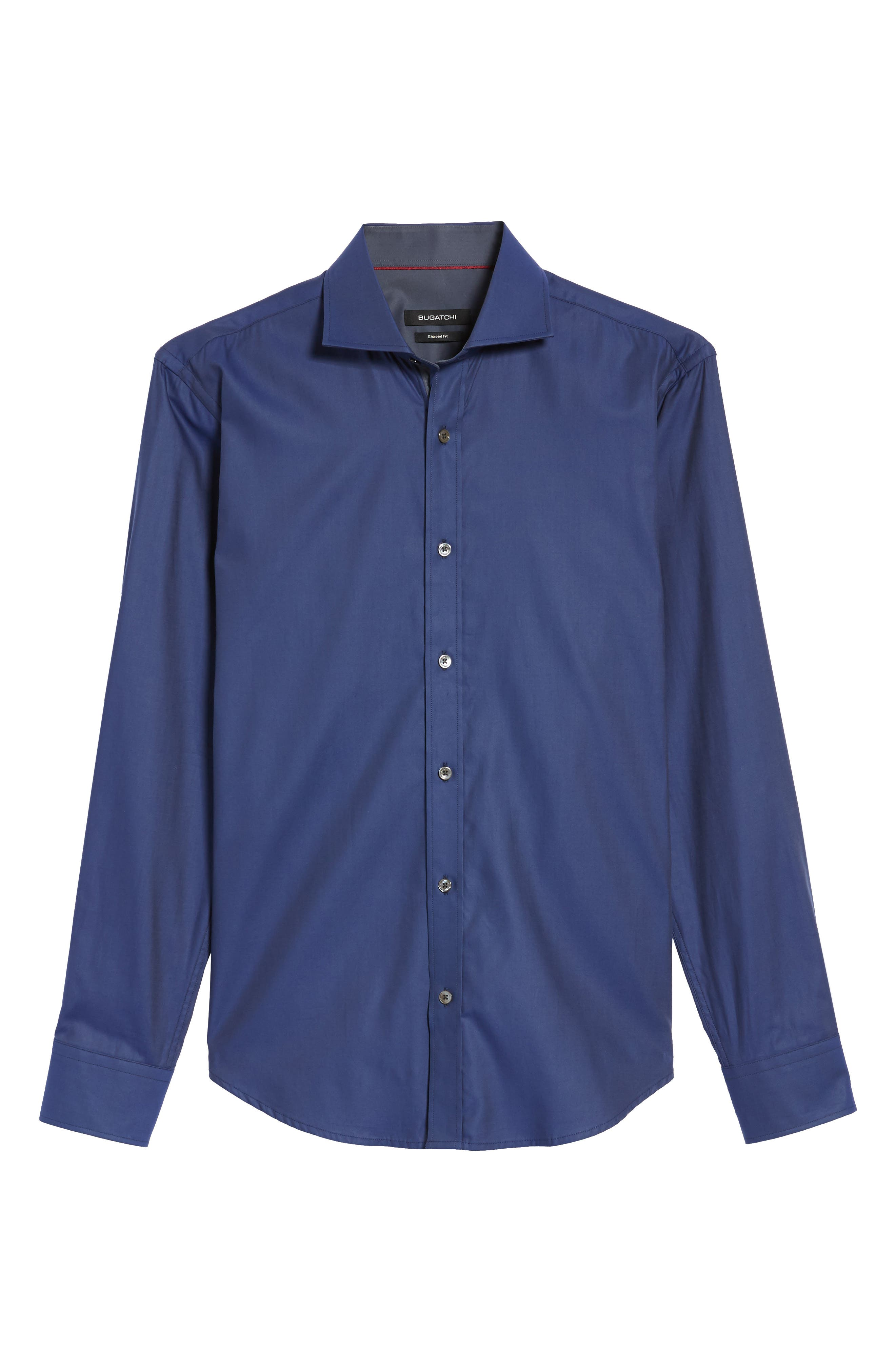 Trim Fit Solid Sport Shirt,                             Alternate thumbnail 22, color,
