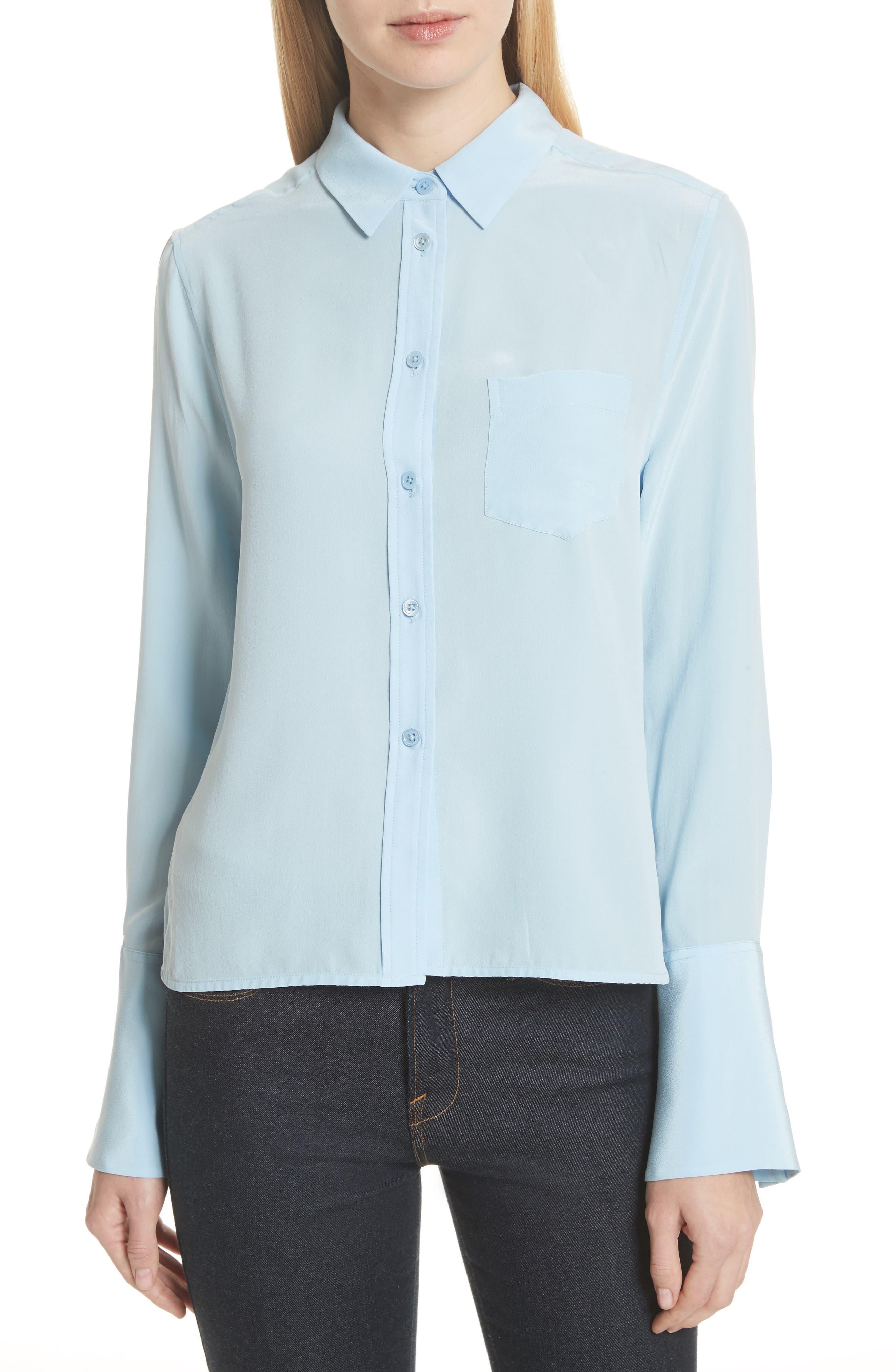 Darla Bell Cuff Shirt,                             Main thumbnail 3, color,