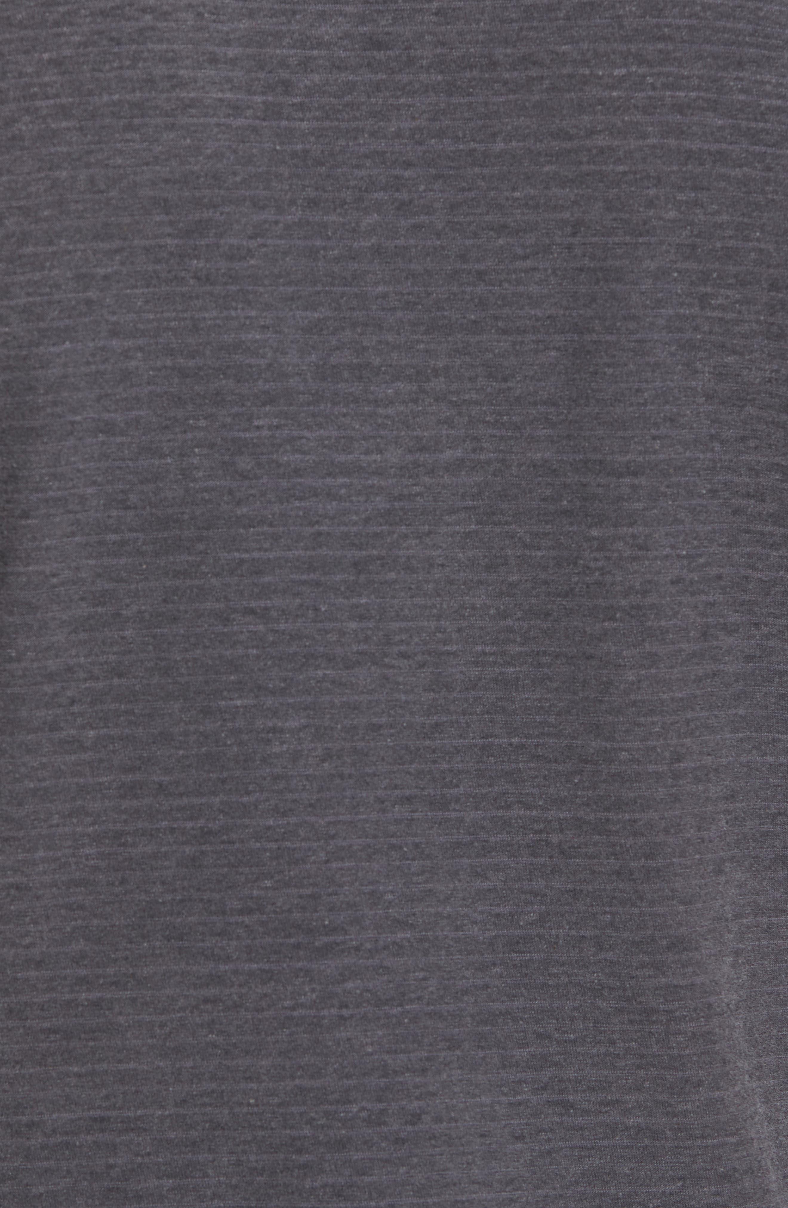 Microstripe Ringer T-Shirt,                             Alternate thumbnail 5, color,                             020