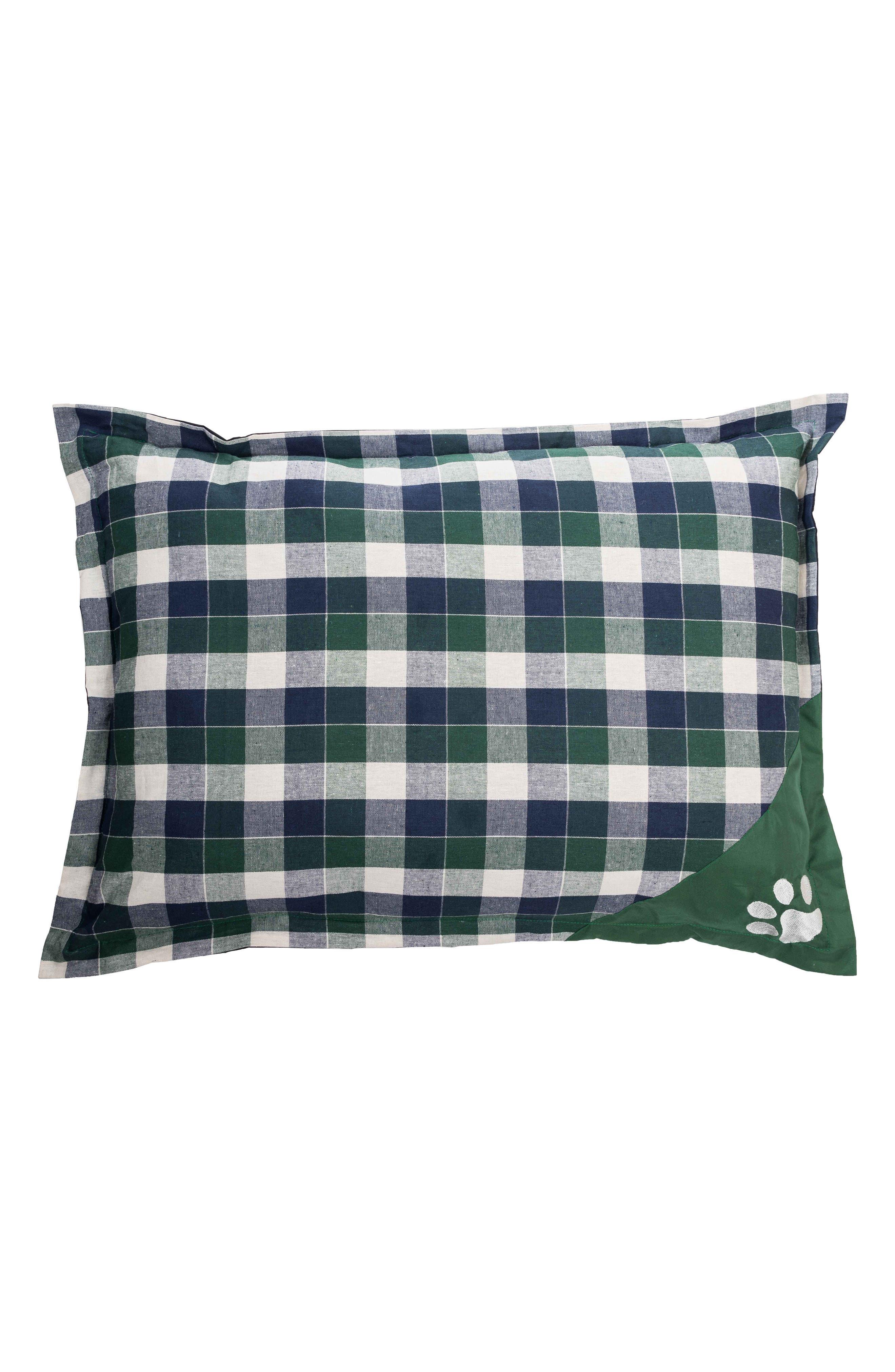 Hasley Pet Pillow,                         Main,                         color, GREEN