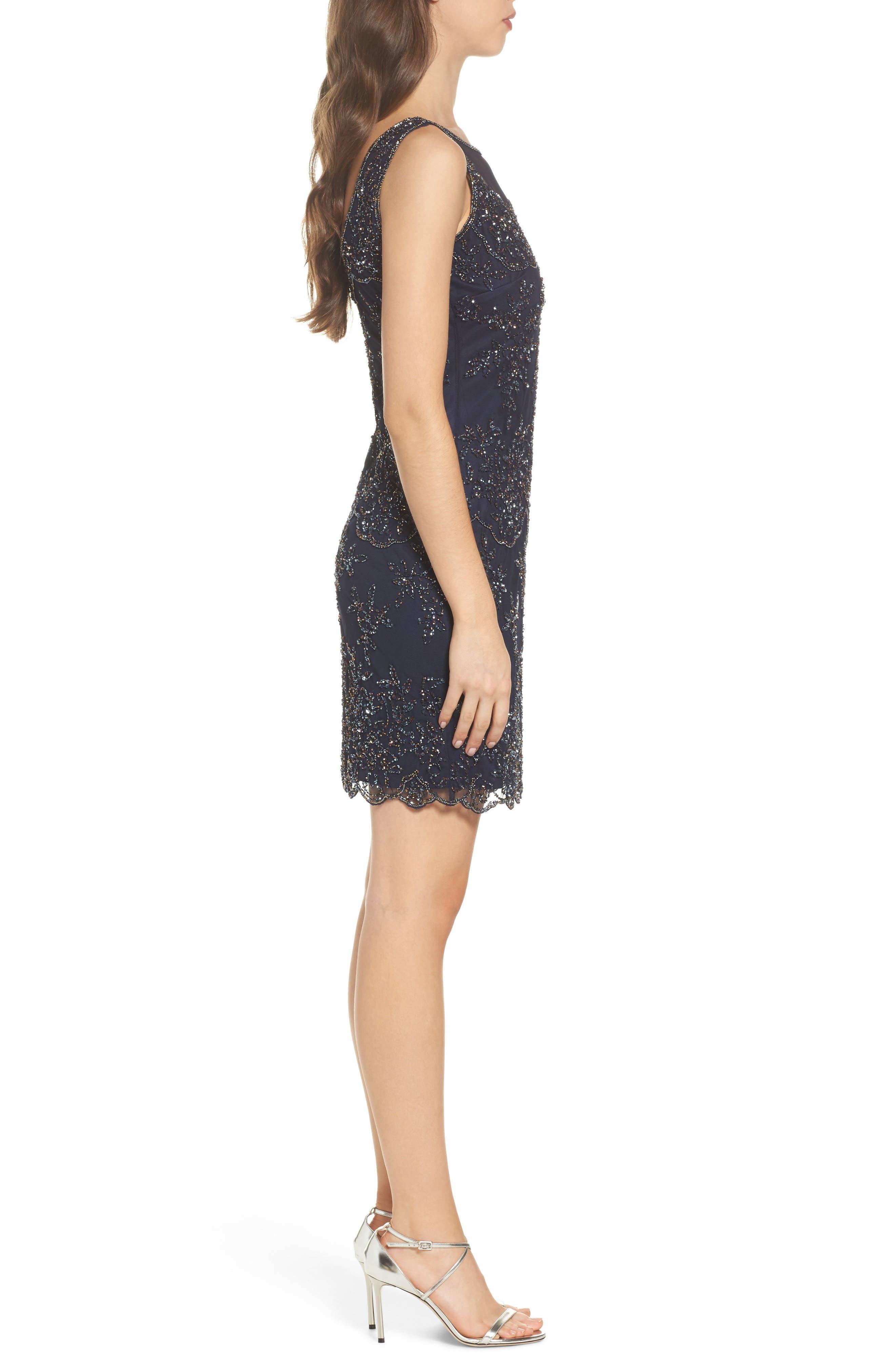 Embellished Dress,                             Alternate thumbnail 3, color,                             410