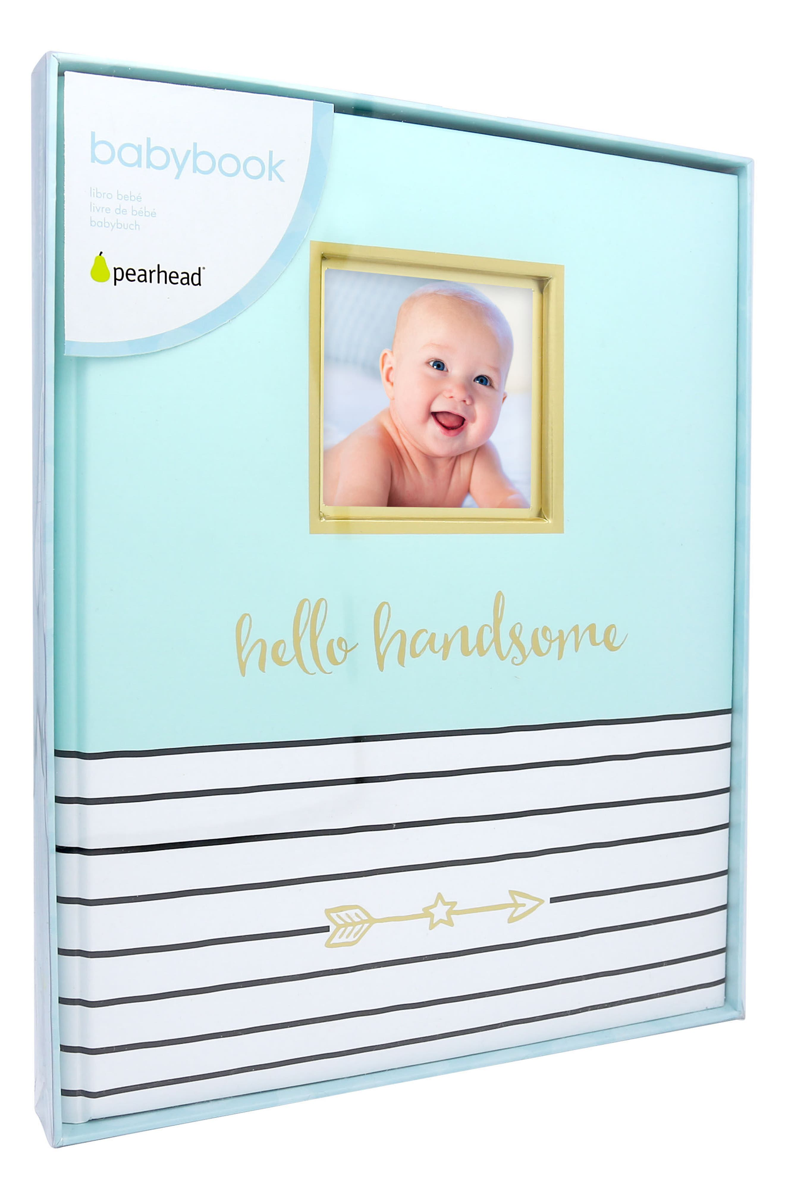 PEARHEAD,                             Hello Baby Book,                             Alternate thumbnail 3, color,                             BLUE