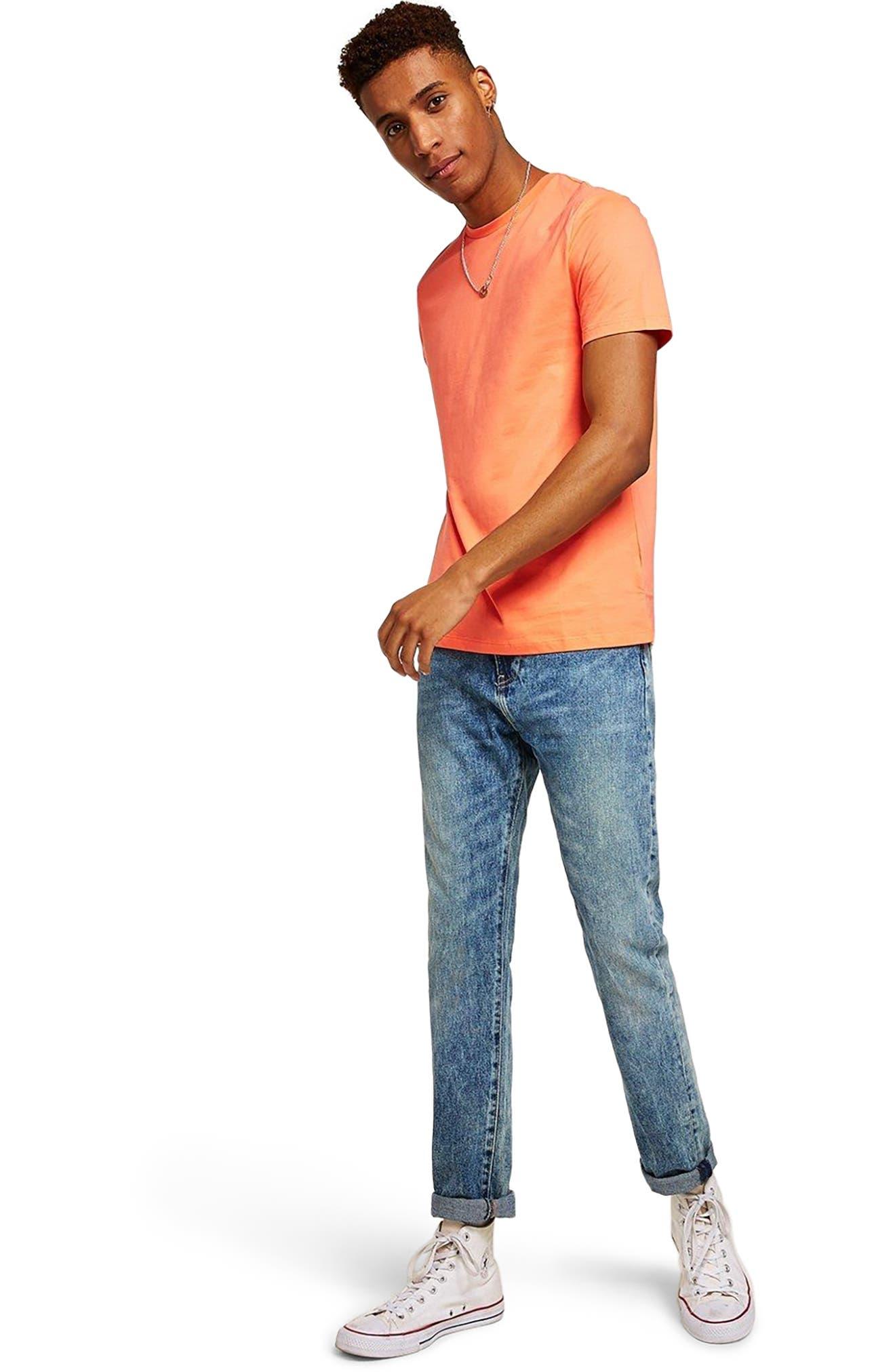 Slim Fit Crewneck T-Shirt,                             Alternate thumbnail 390, color,