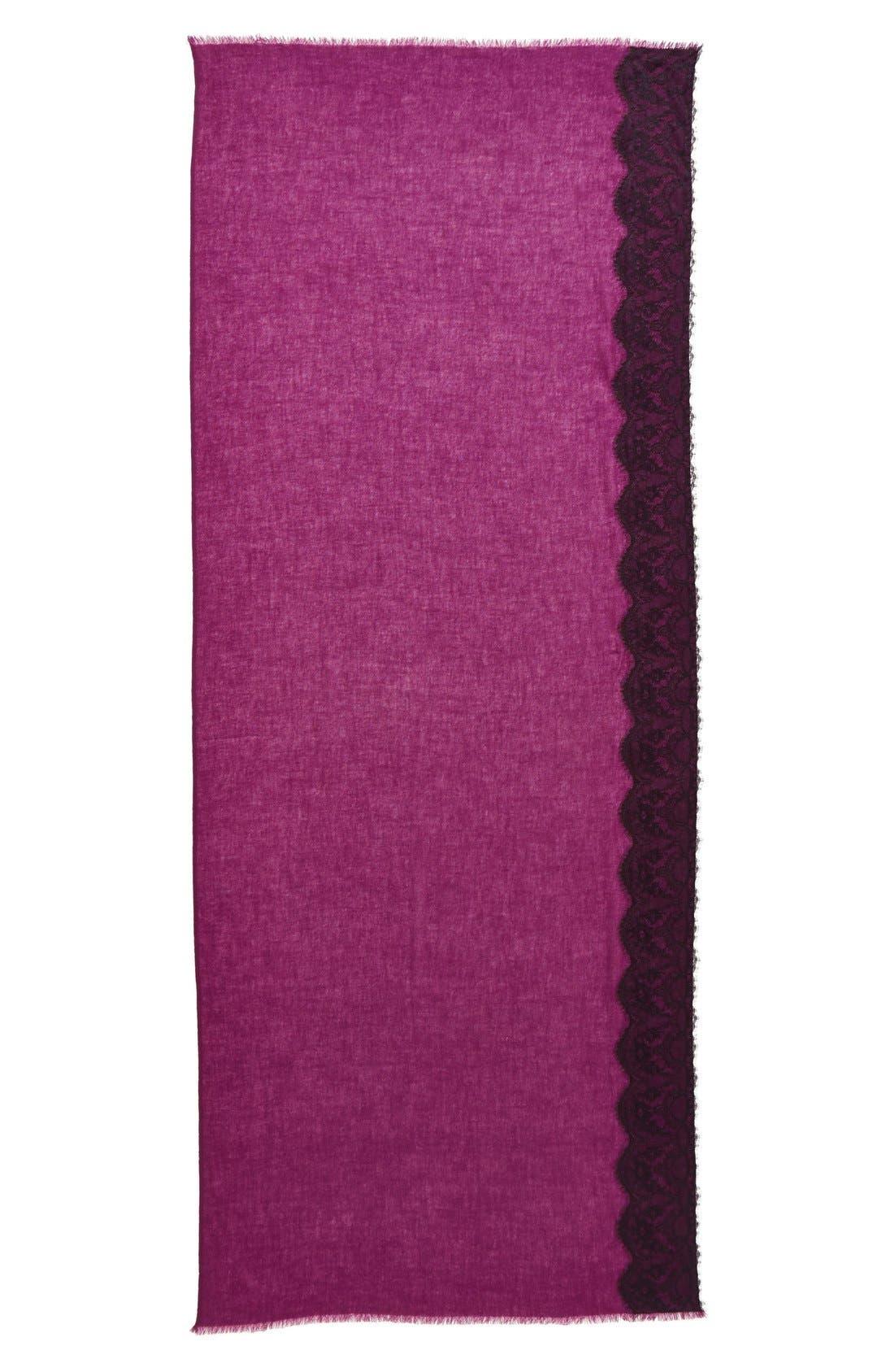 Lace Trim Wrap,                             Alternate thumbnail 9, color,