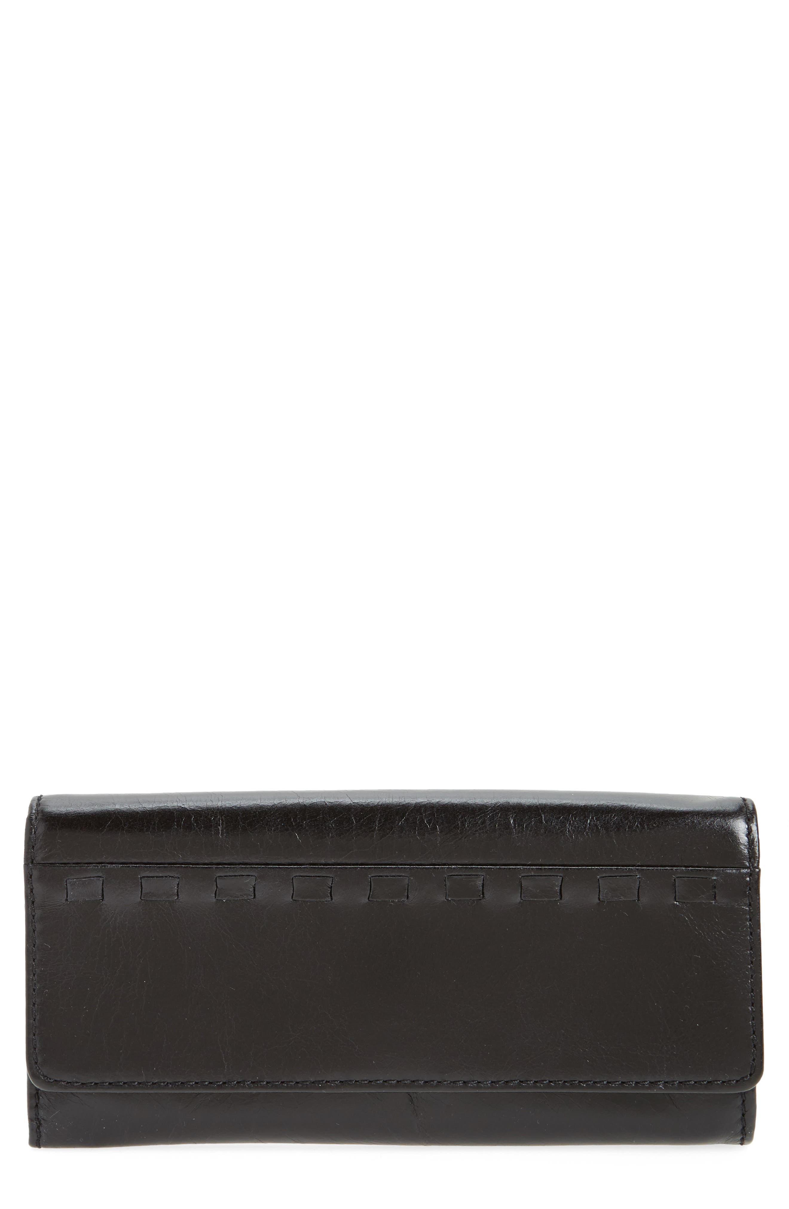 Rider Leather Wallet,                         Main,                         color, 001