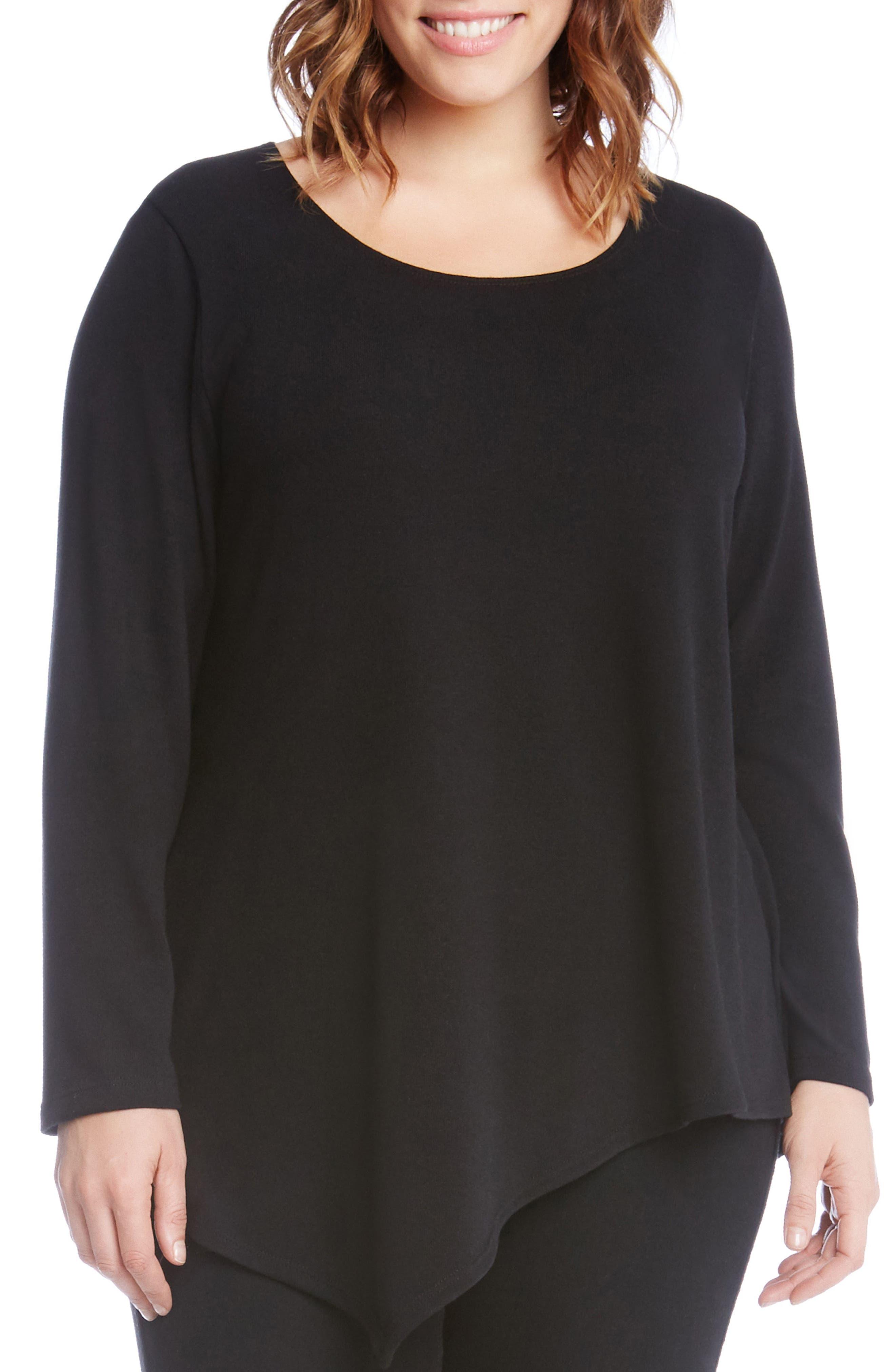 Asymmetrical Hem Sweater,                         Main,                         color,