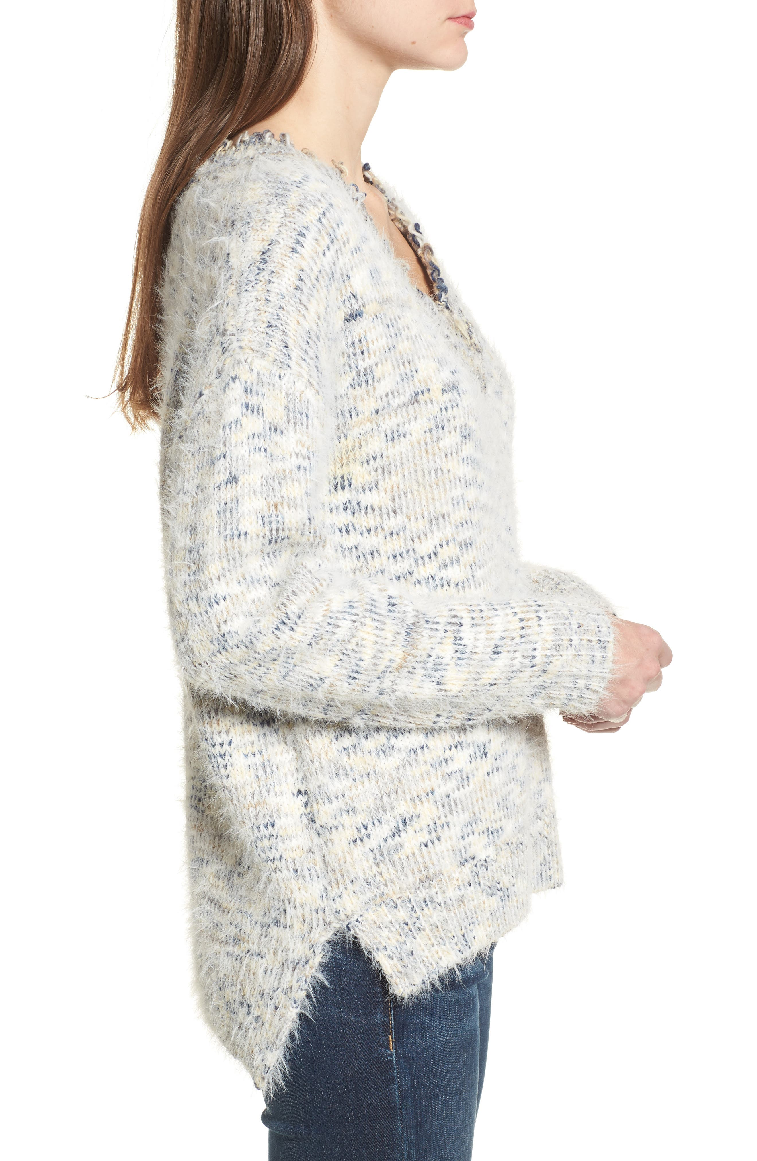 Keep at Bay Space-Dyed Sweater,                             Alternate thumbnail 3, color,