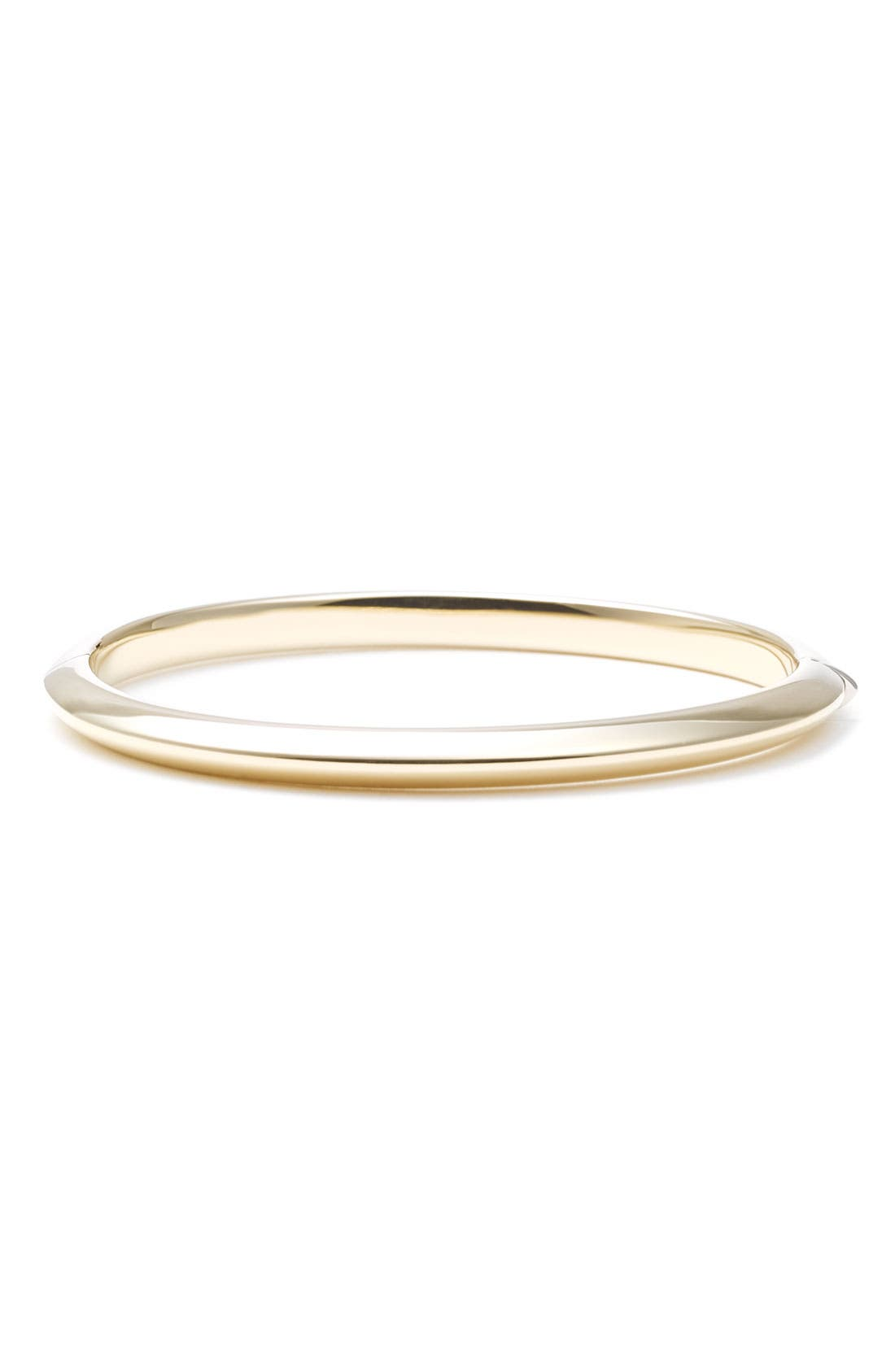 'Knife Edge' Gold Bangle,                             Main thumbnail 1, color,                             700