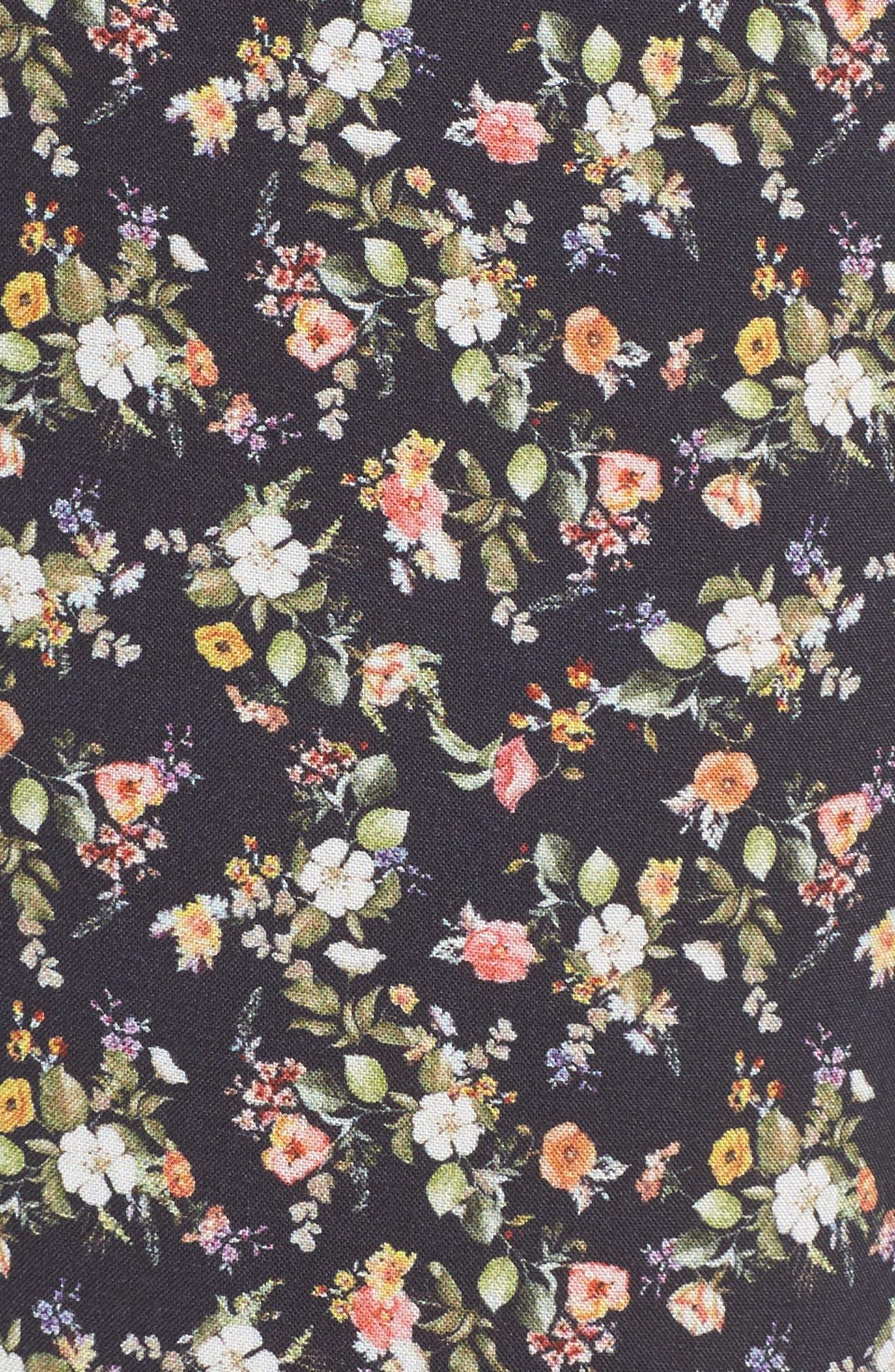 Floral Pajama Pants,                             Alternate thumbnail 5, color,                             400