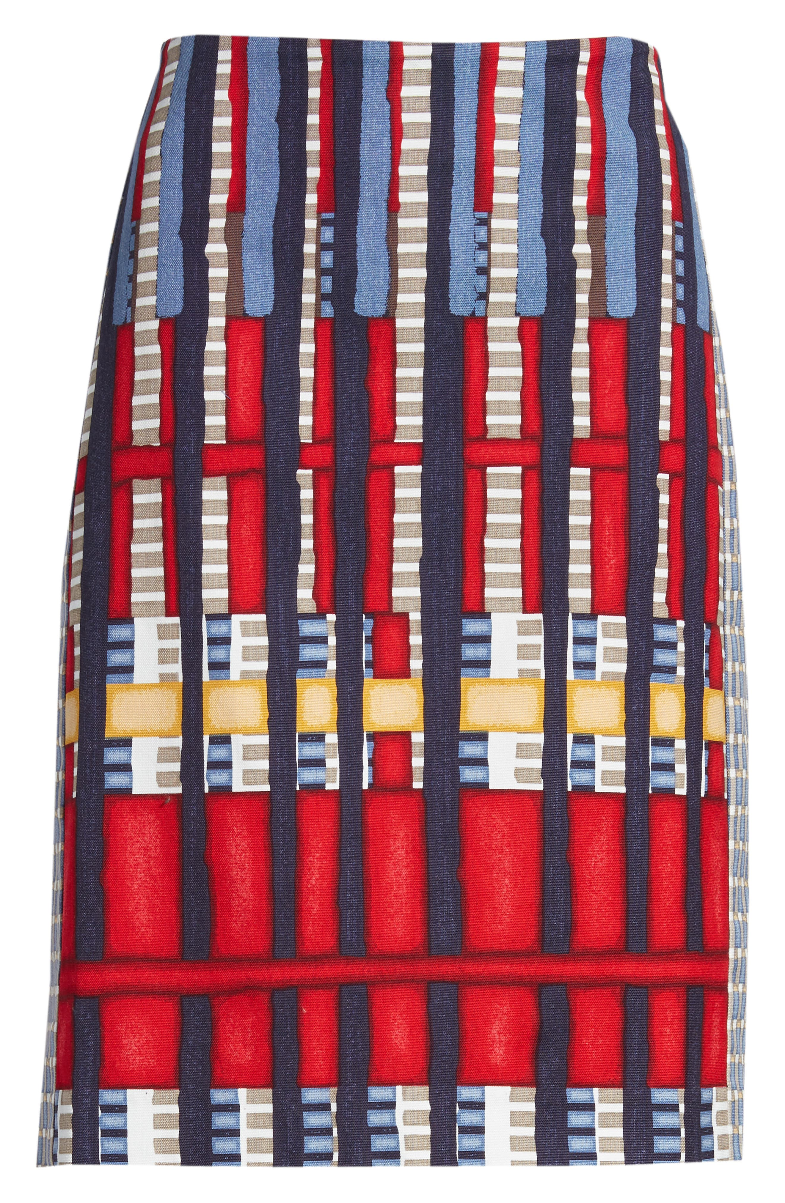 Santiago Hills Block Skirt,                             Alternate thumbnail 6, color,