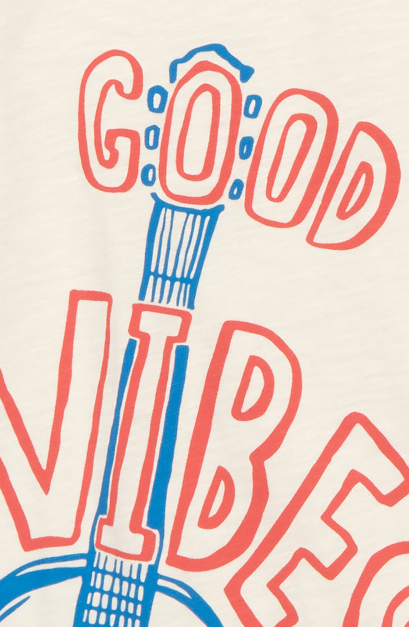 Good Vibes Graphic T-Shirt,                             Alternate thumbnail 2, color,                             600
