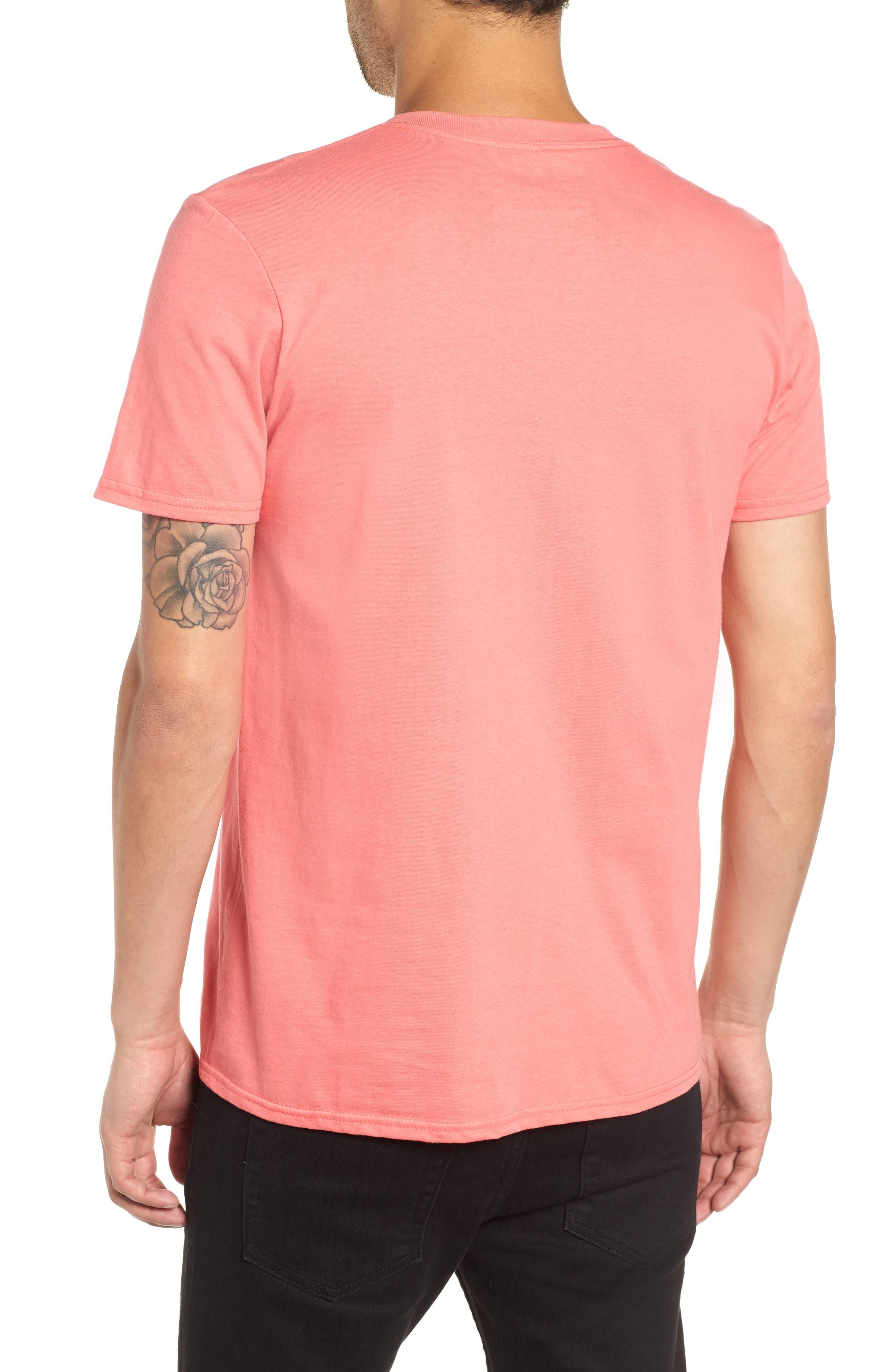 Zoit Graphic T-Shirt,                             Alternate thumbnail 2, color,                             CORAL ZOIT