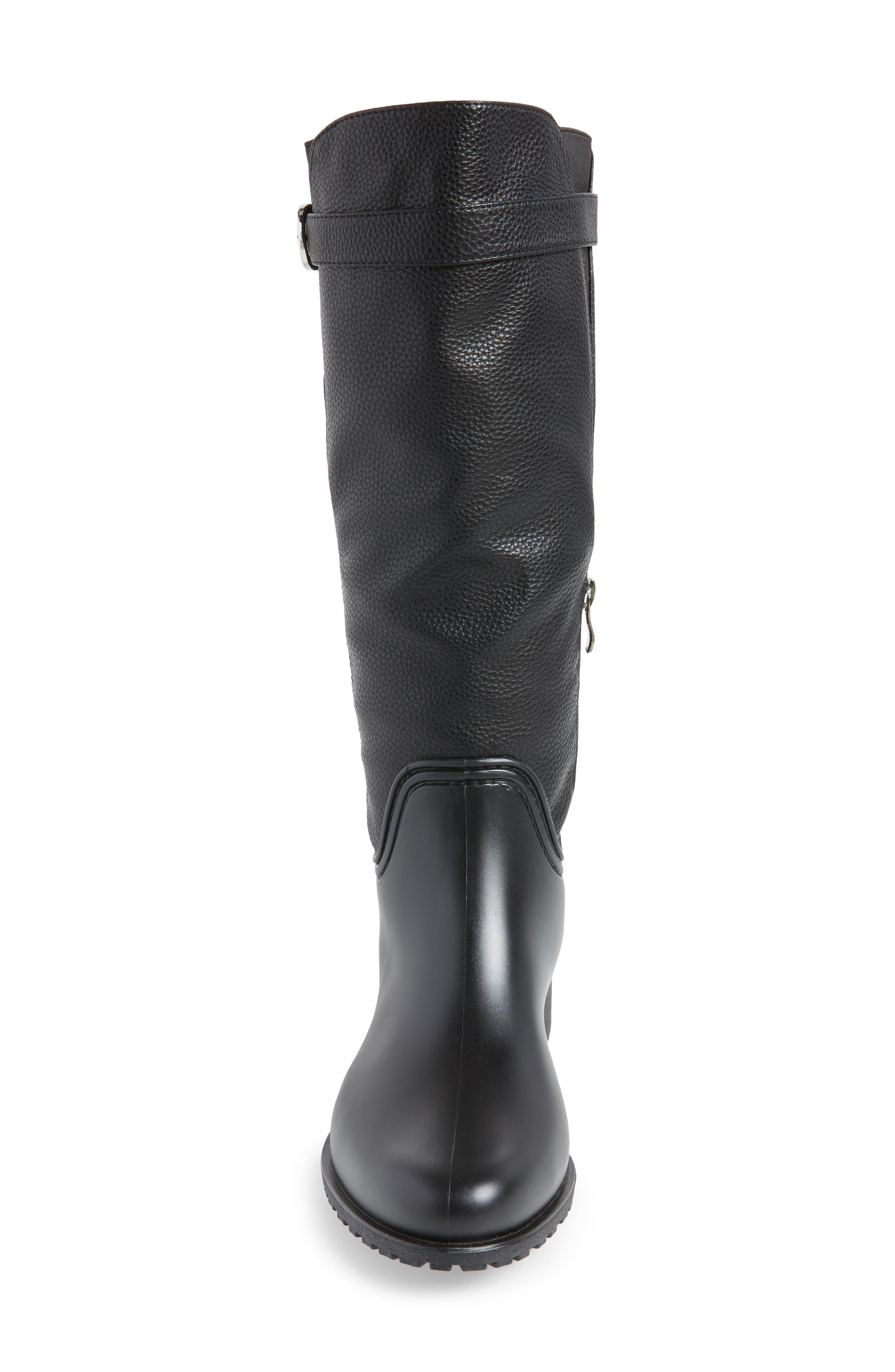 Dunkirk Water Resistant Boot,                             Alternate thumbnail 4, color,                             BLACK