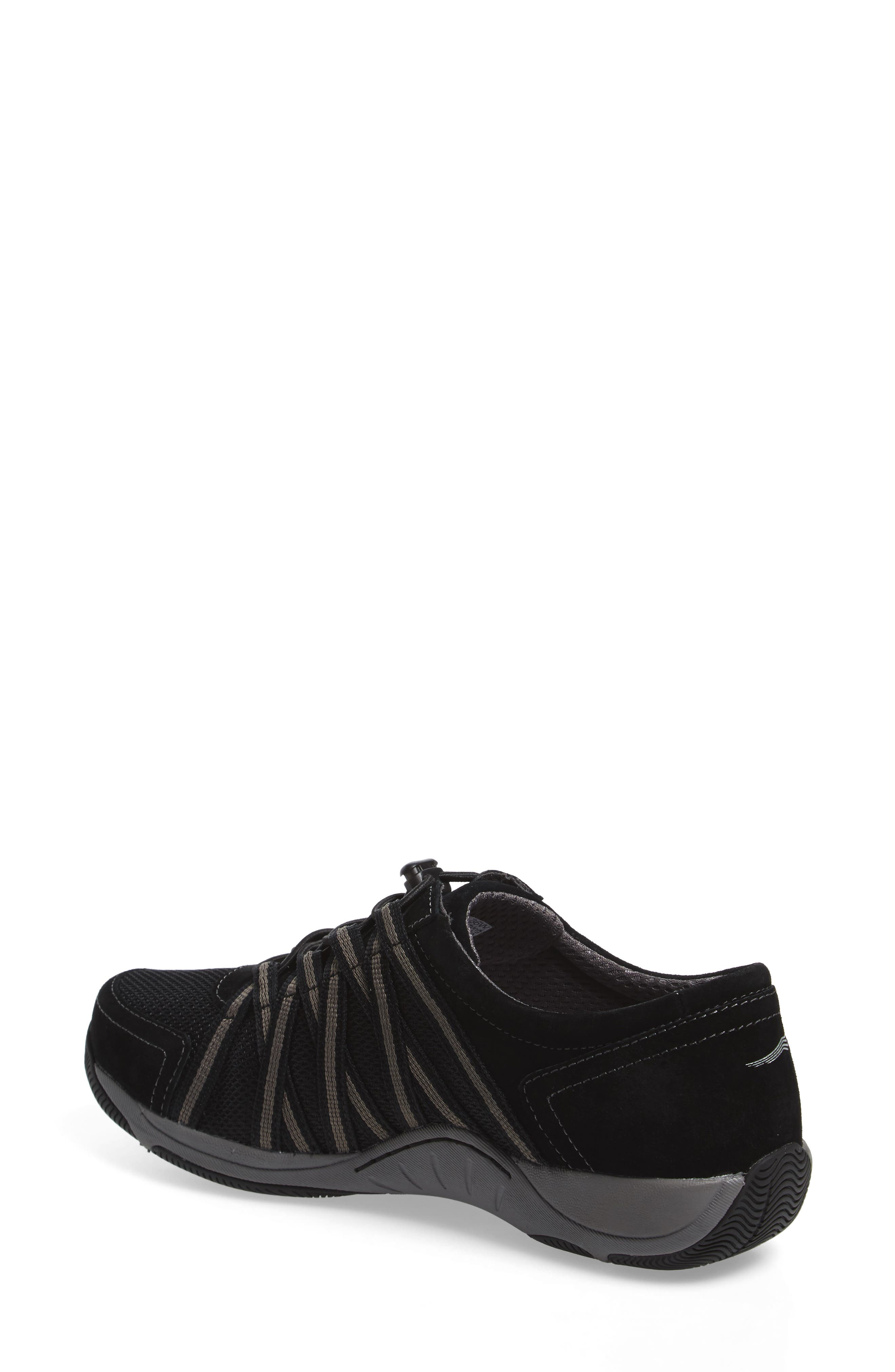 Halifax Collection Honor Sneaker,                             Alternate thumbnail 2, color,                             BLACK/ BLACK SUEDE