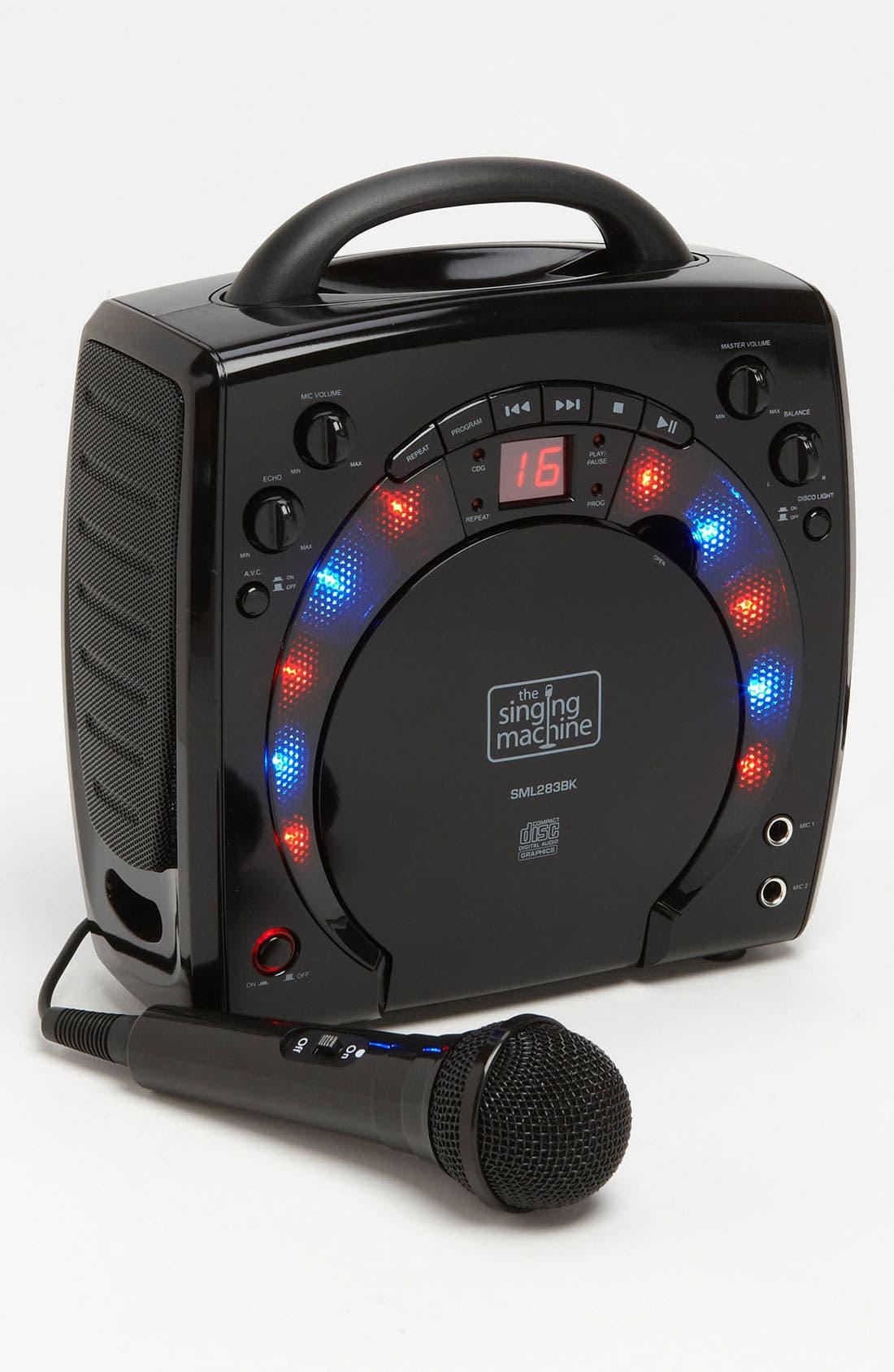 SINGING MACHINE,                             Portable Karaoke System,                             Main thumbnail 1, color,                             001