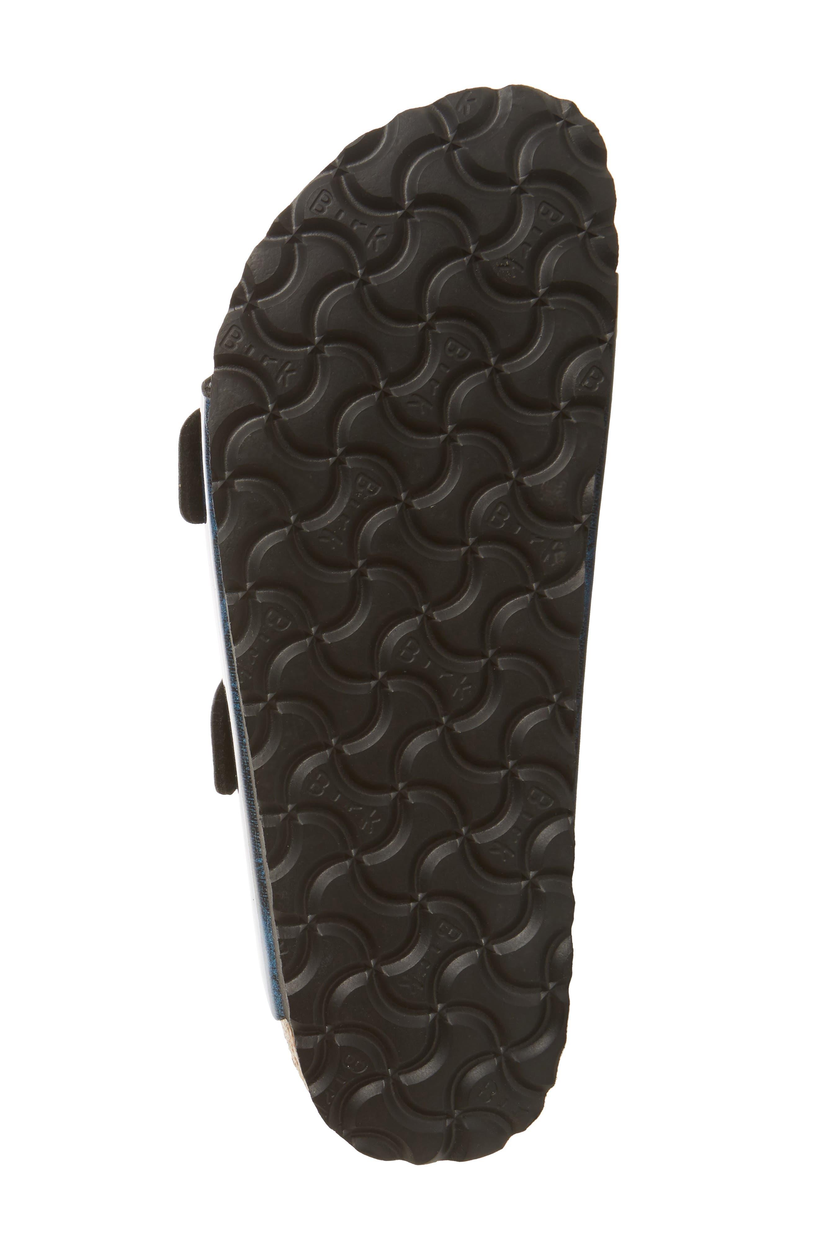 Arizona Birko-Flor Soft Footbed Sandal,                             Alternate thumbnail 6, color,                             MILKY WAY BLUE