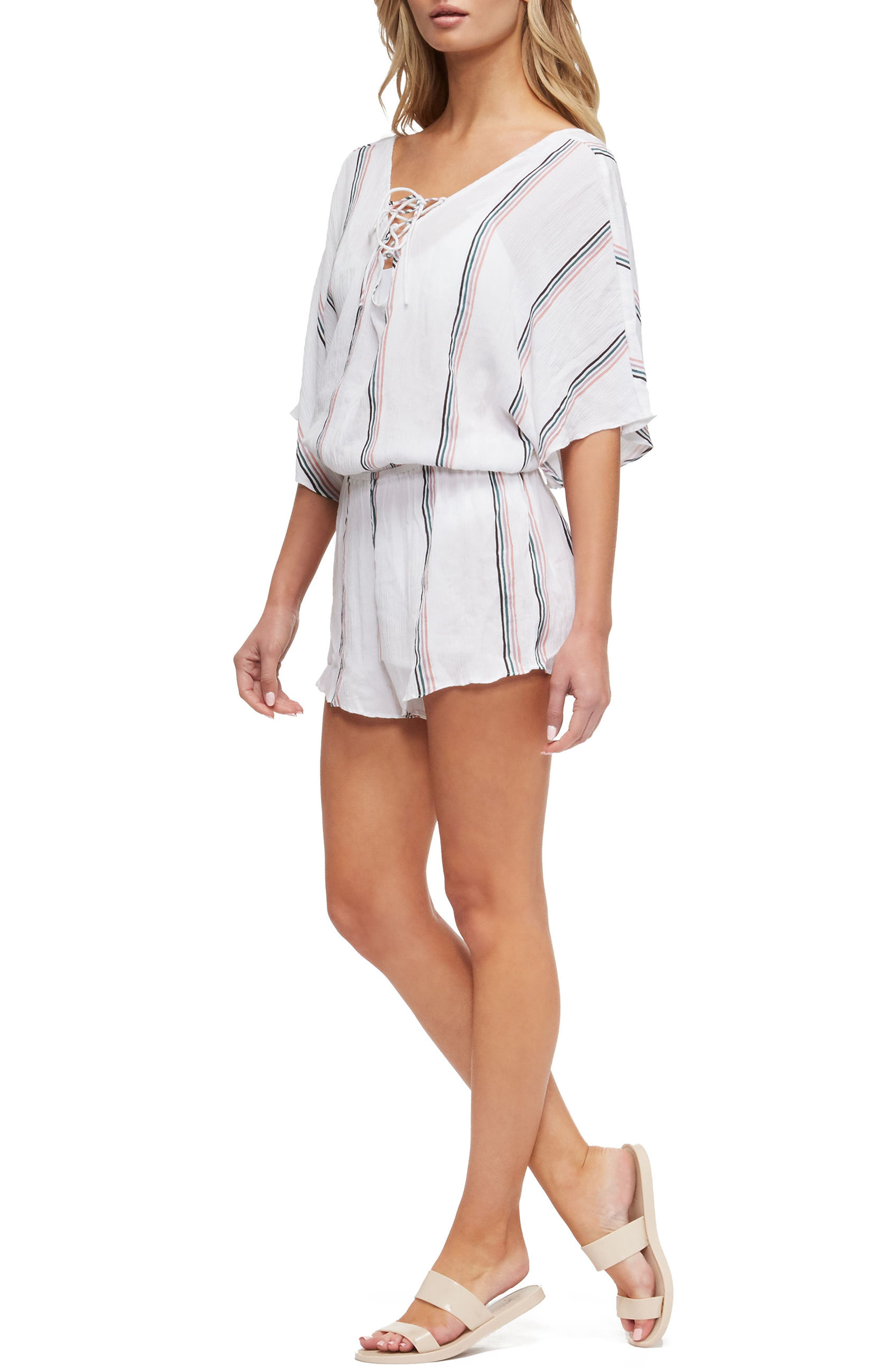 Harmony Cover-Up Romper,                             Alternate thumbnail 3, color,                             831