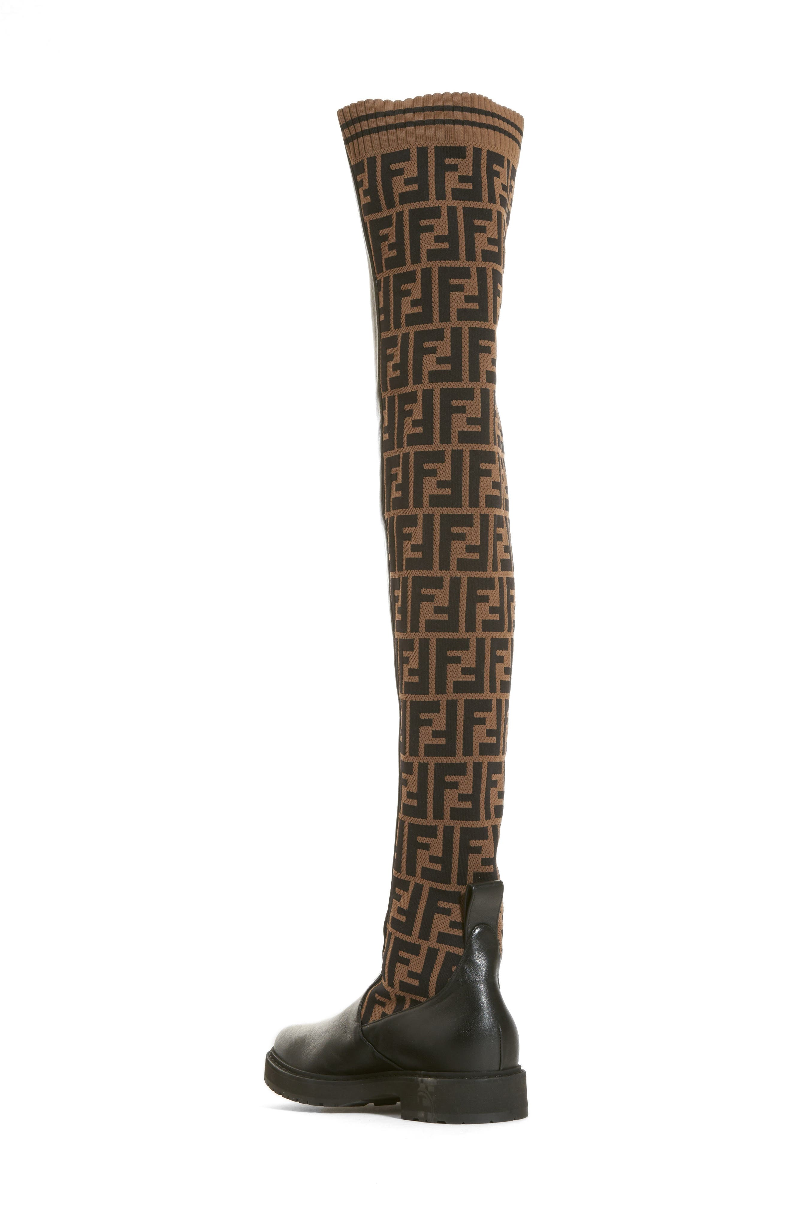 Rockoko Over the Knee Boot,                             Alternate thumbnail 2, color,