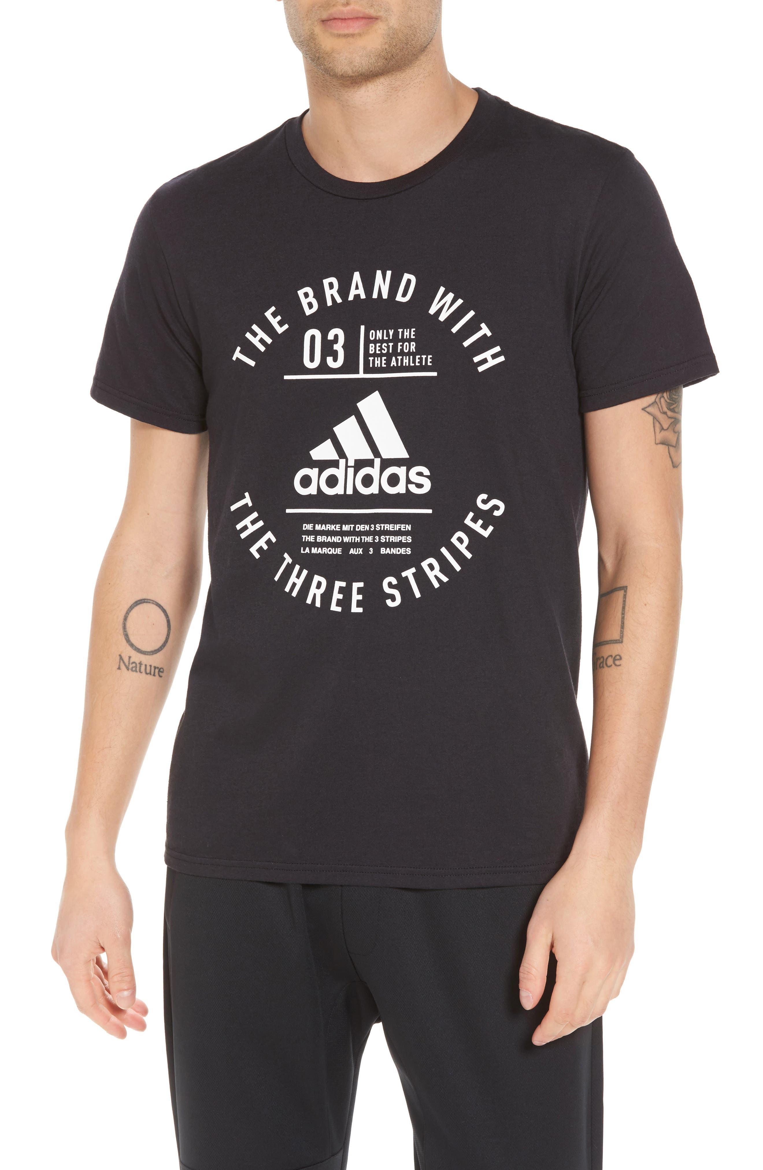 TSL Emblem T-Shirt,                         Main,                         color, BLACK / WHITE